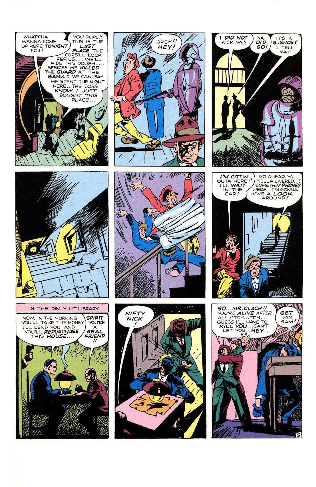 Read online Will Eisner's The Spirit Archives comic -  Issue # TPB 1 (Part 2) - 96