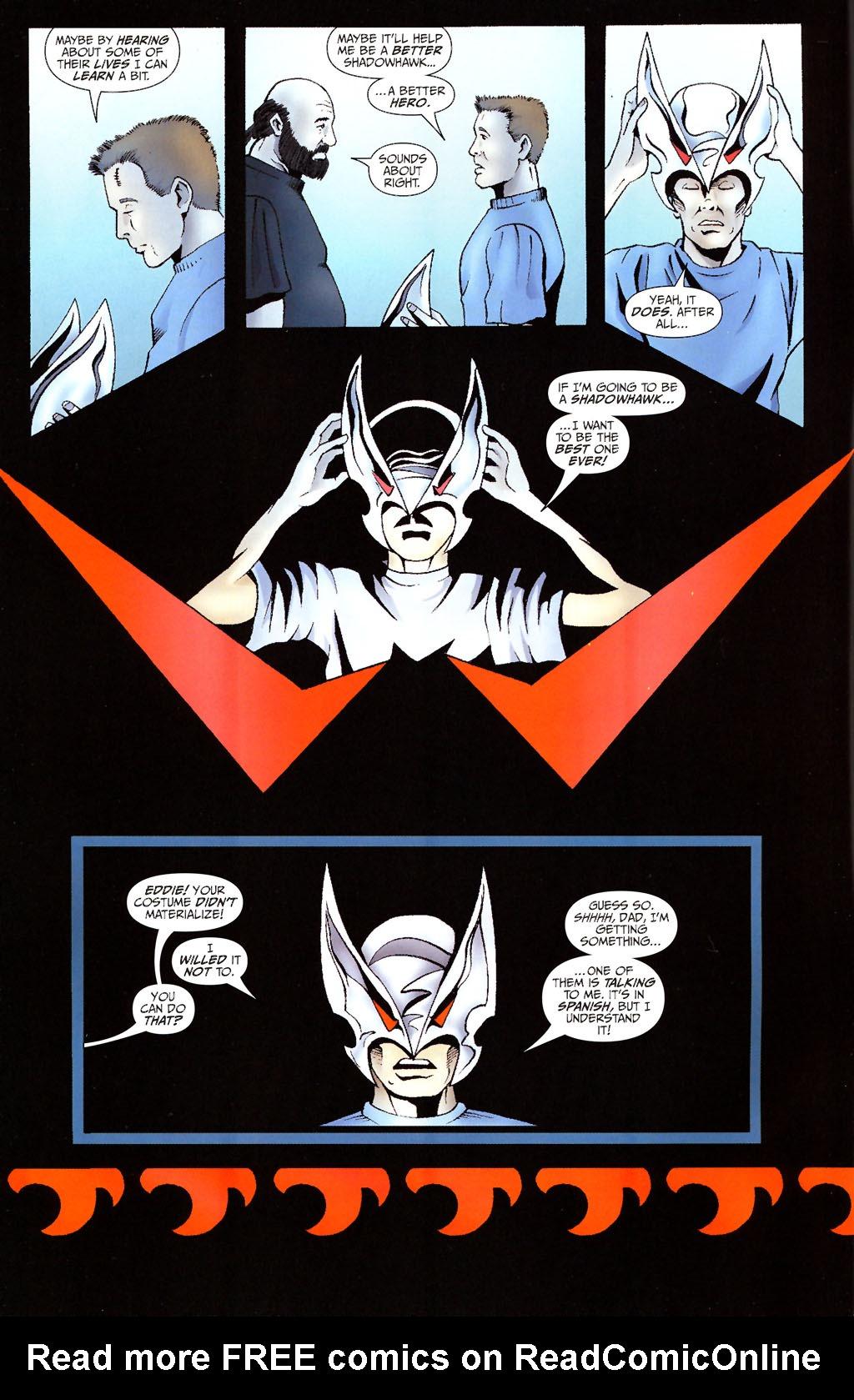 Read online ShadowHawk (2005) comic -  Issue #13 - 4