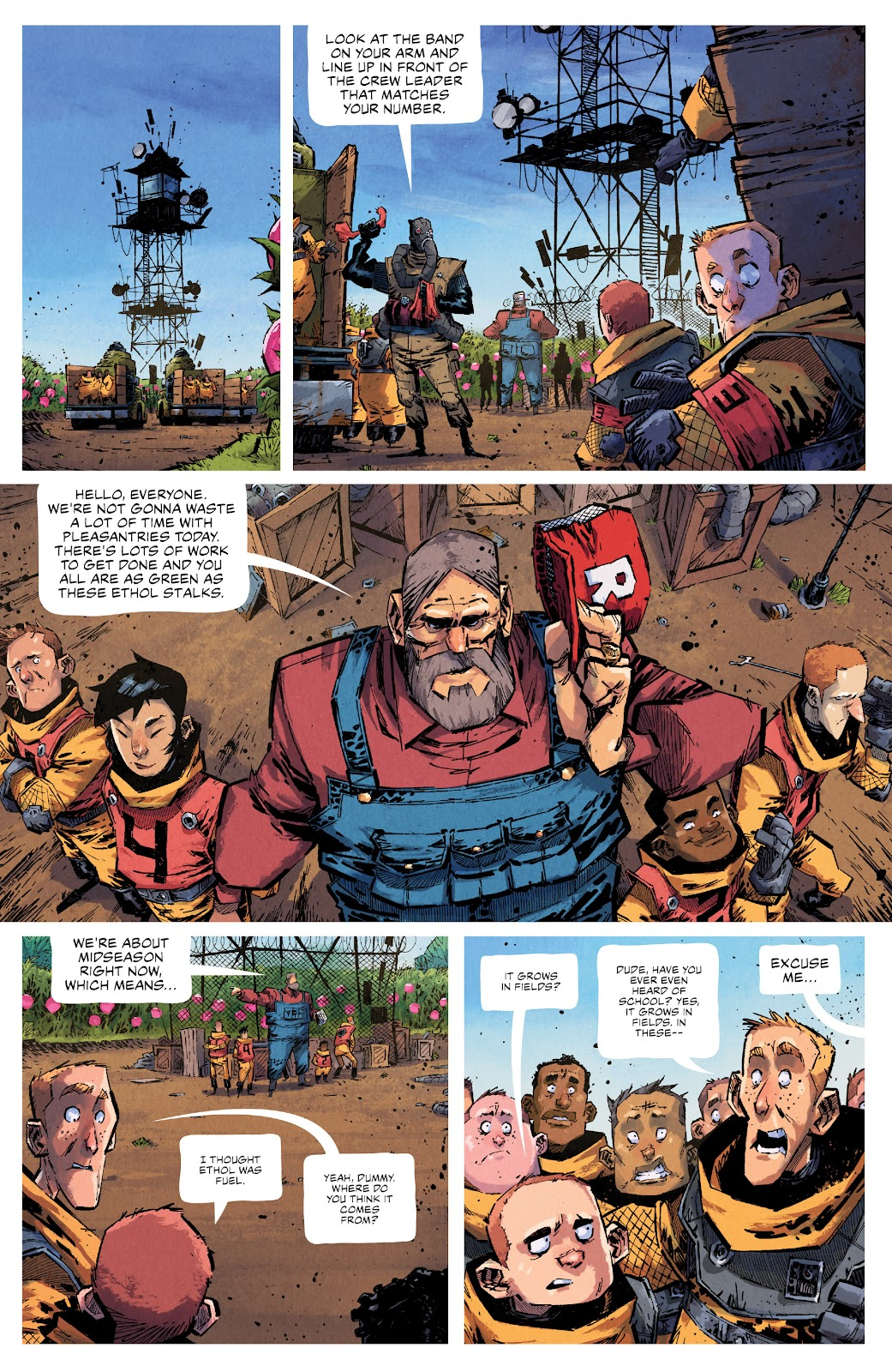 Read online Middlewest comic -  Issue #13 - 9