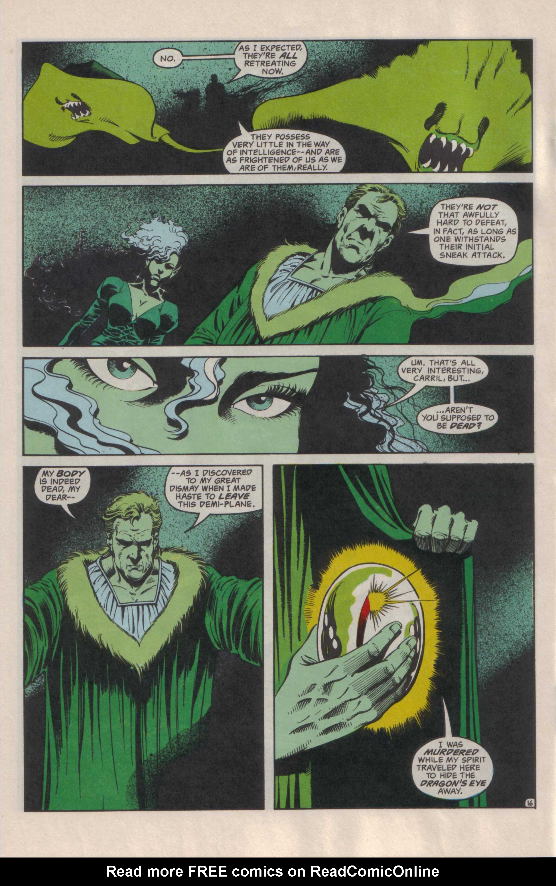 Read online Advanced Dungeons & Dragons comic -  Issue #29 - 17