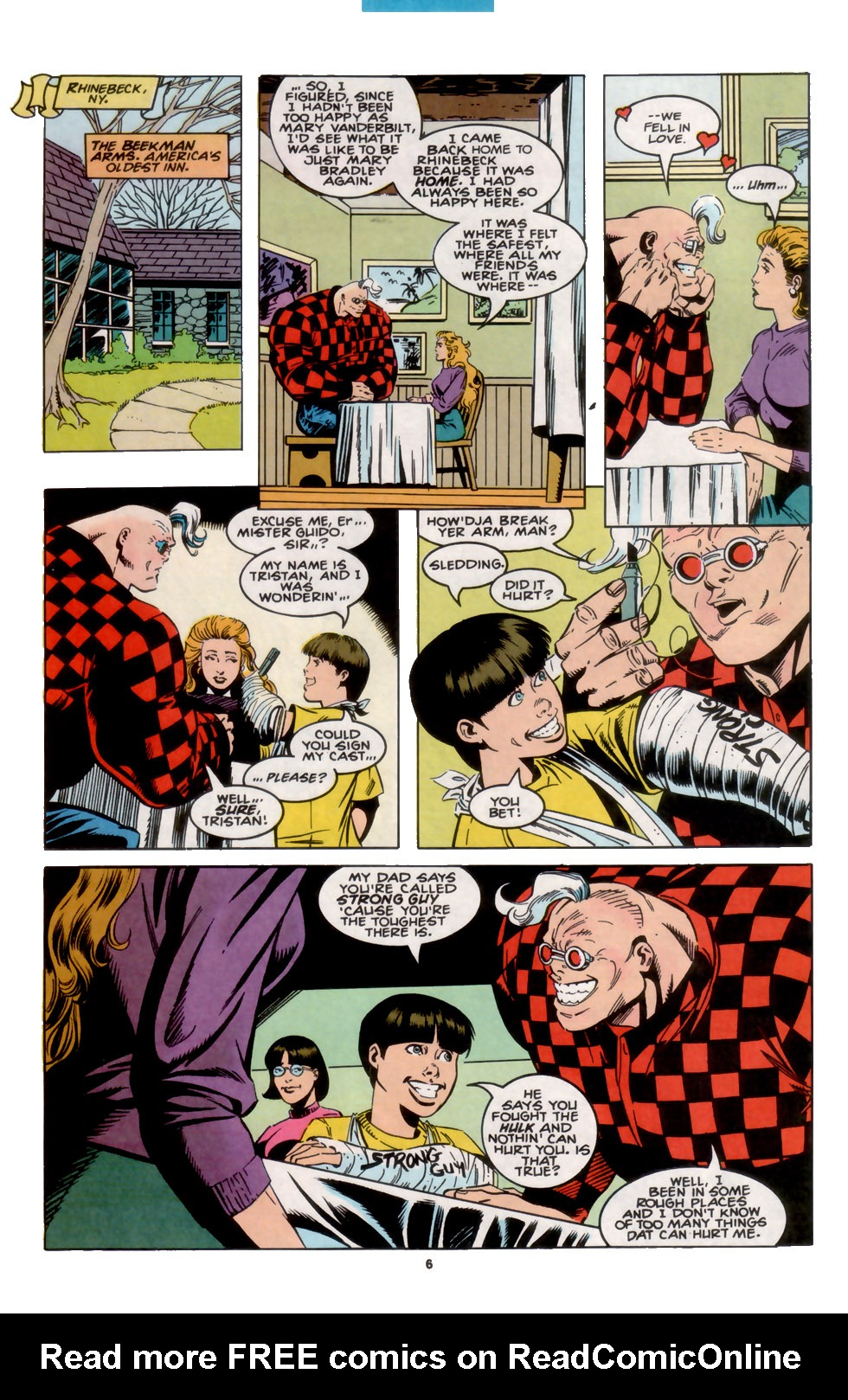 Read online X-Factor (1986) comic -  Issue #104 - 6
