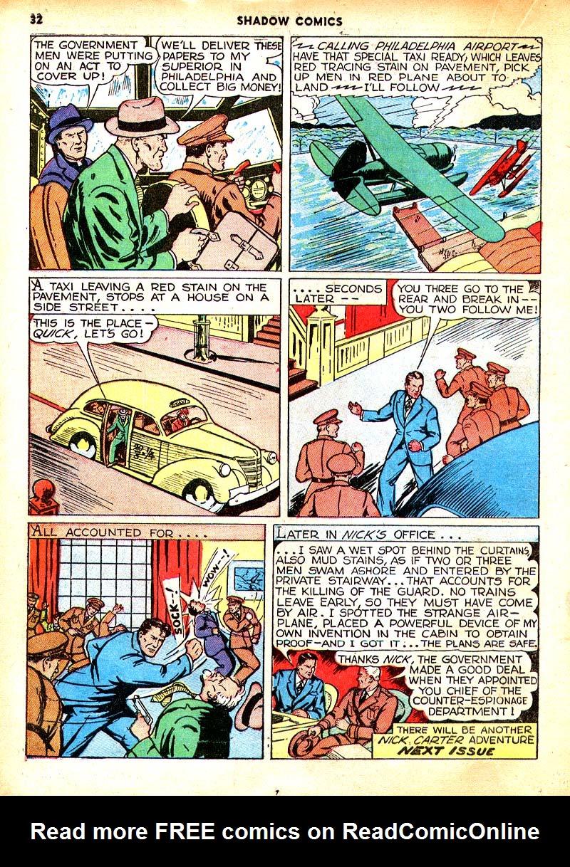 Read online Shadow Comics comic -  Issue #7 - 25