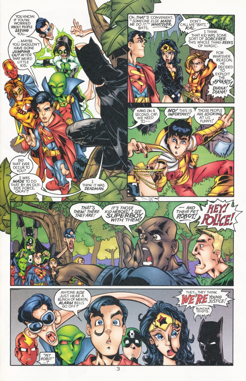 Sins of Youth issue JLA Jr. - Page 5