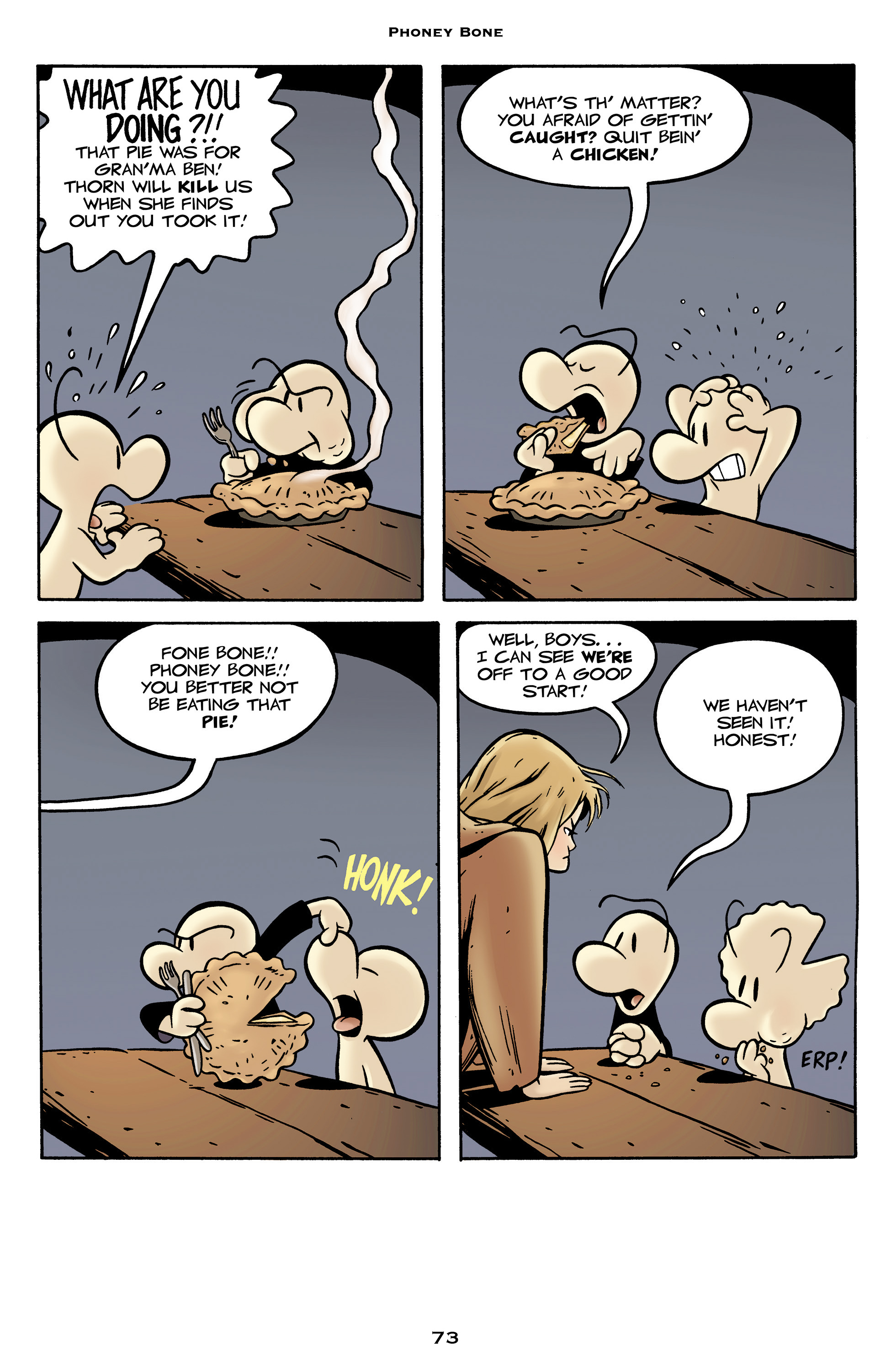 Read online Bone: Out From Boneville comic -  Issue # TPB - 73