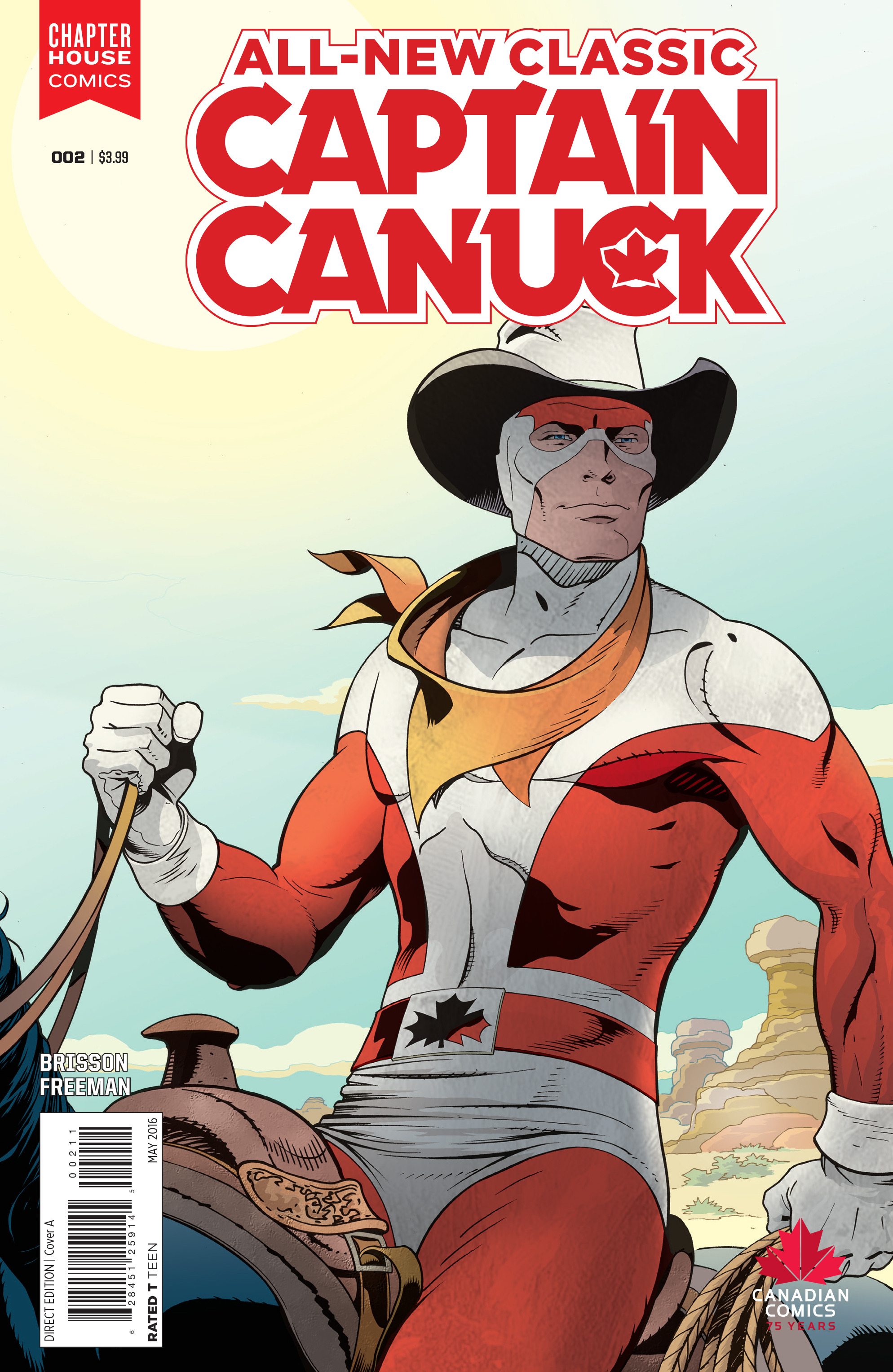 All-New Classic Captain Canuck 2 Page 1