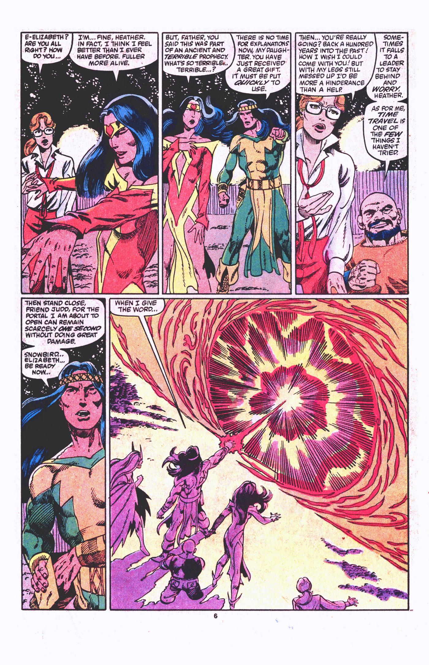 Read online Alpha Flight (1983) comic -  Issue #19 - 7