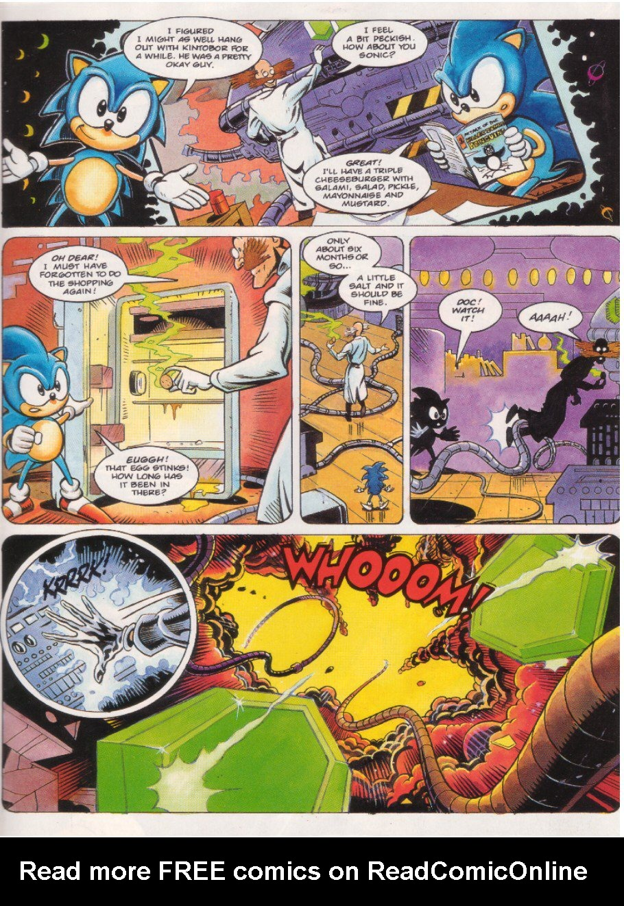 Read online Sonic the Comic comic -  Issue #8 - 7