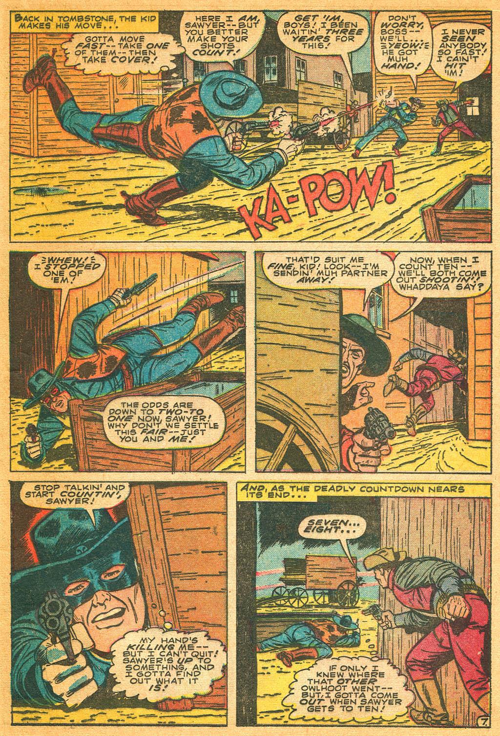 Read online Two-Gun Kid comic -  Issue #87 - 21
