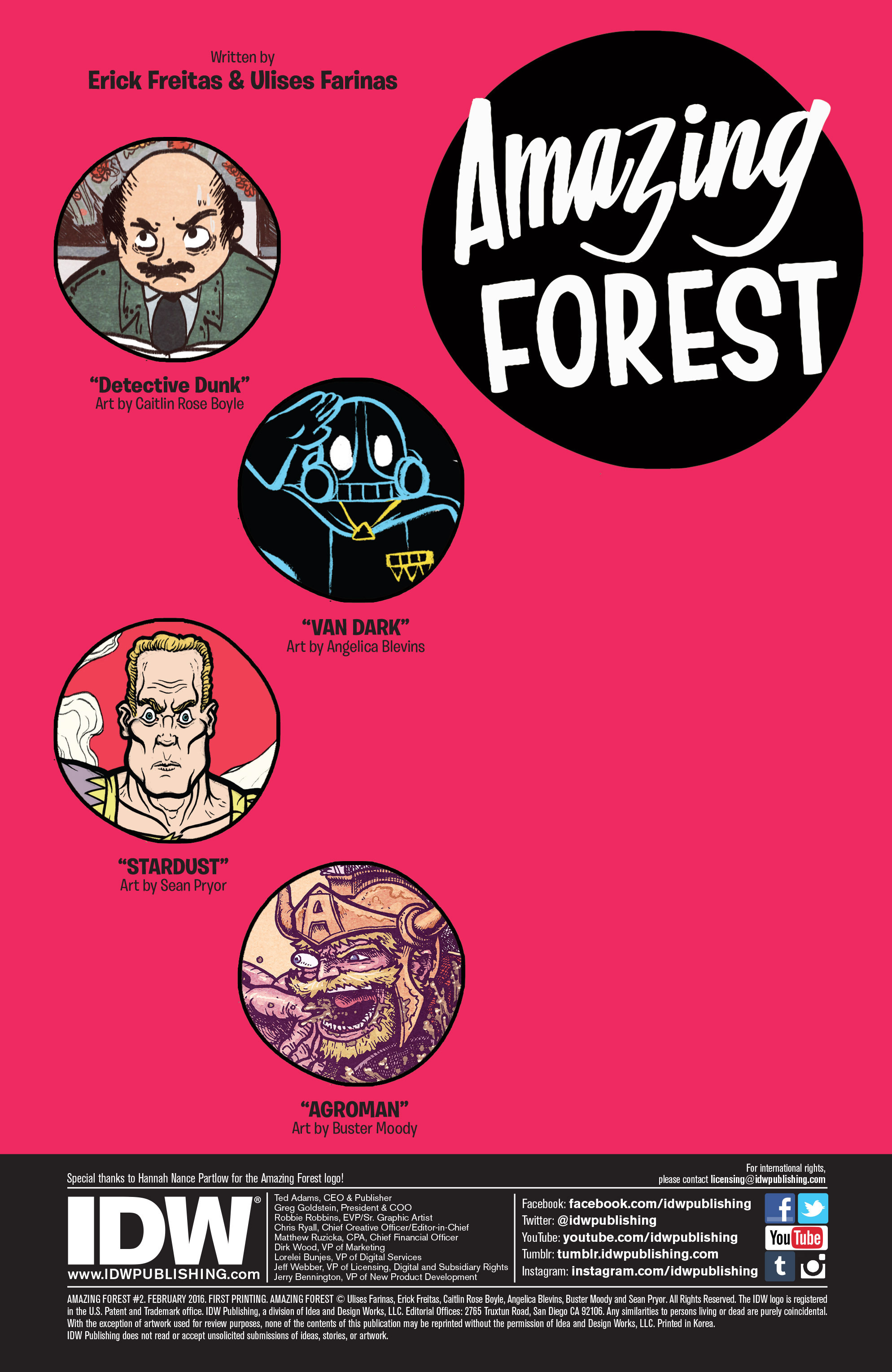 Read online Amazing Forest (2016) comic -  Issue #2 - 2