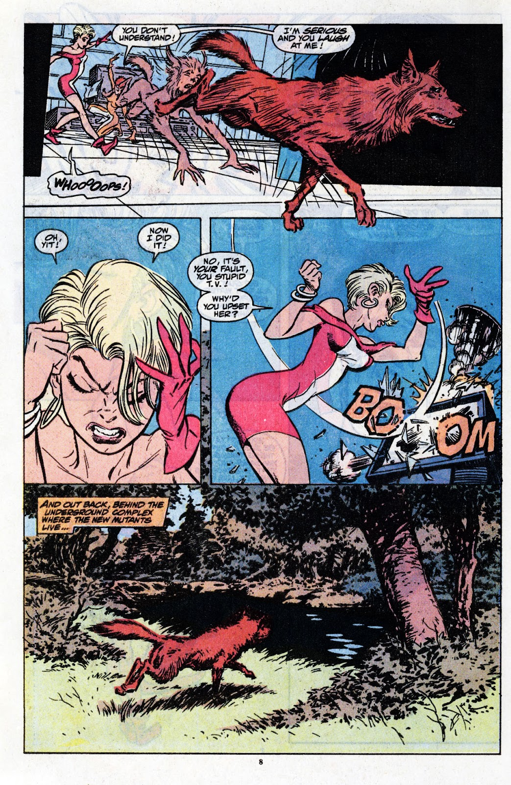 The New Mutants Summer Special issue Full - Page 10