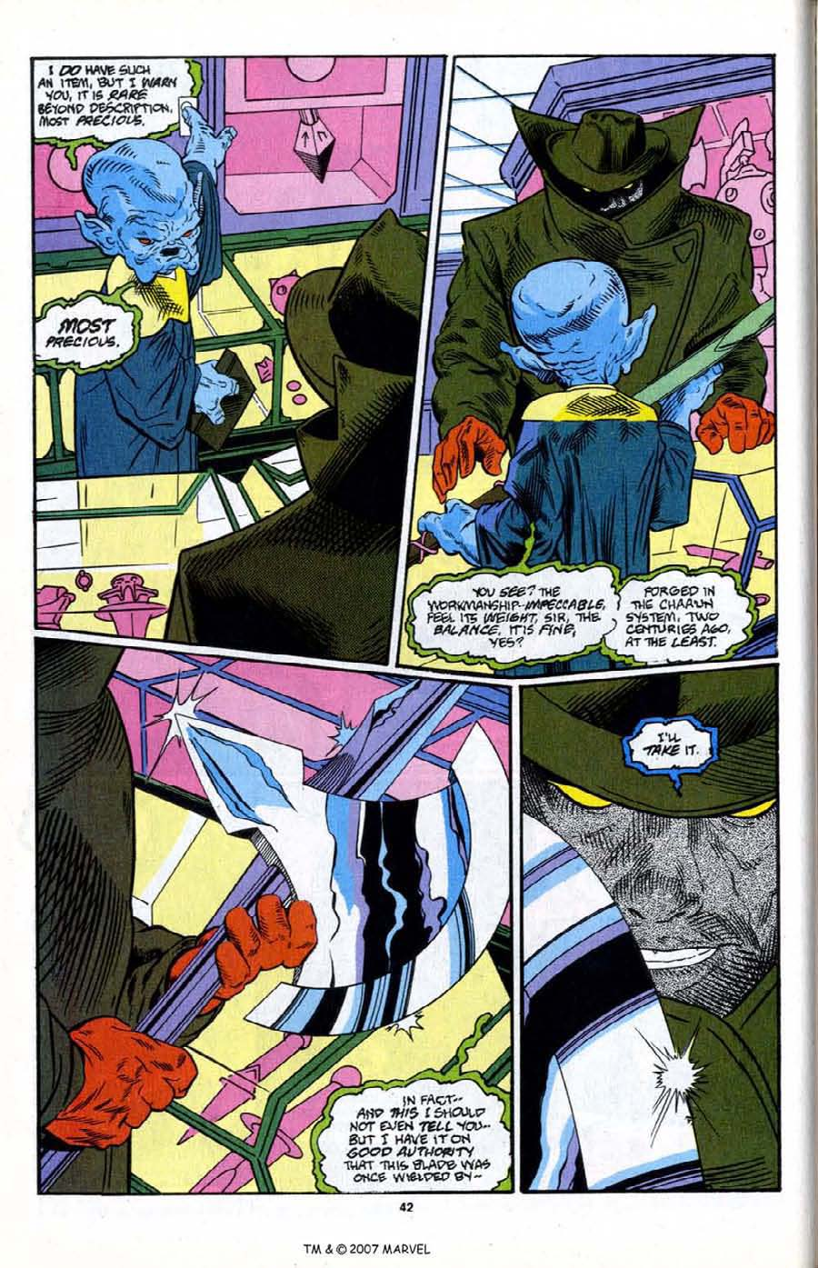 Read online Silver Surfer (1987) comic -  Issue # _Annual 6 - 44