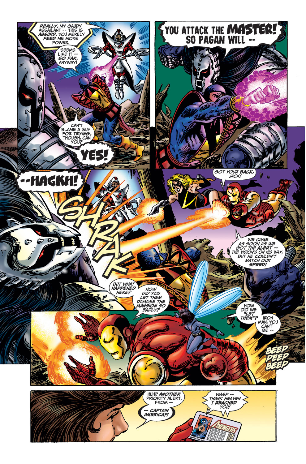 Read online Avengers (1998) comic -  Issue #36 - 18