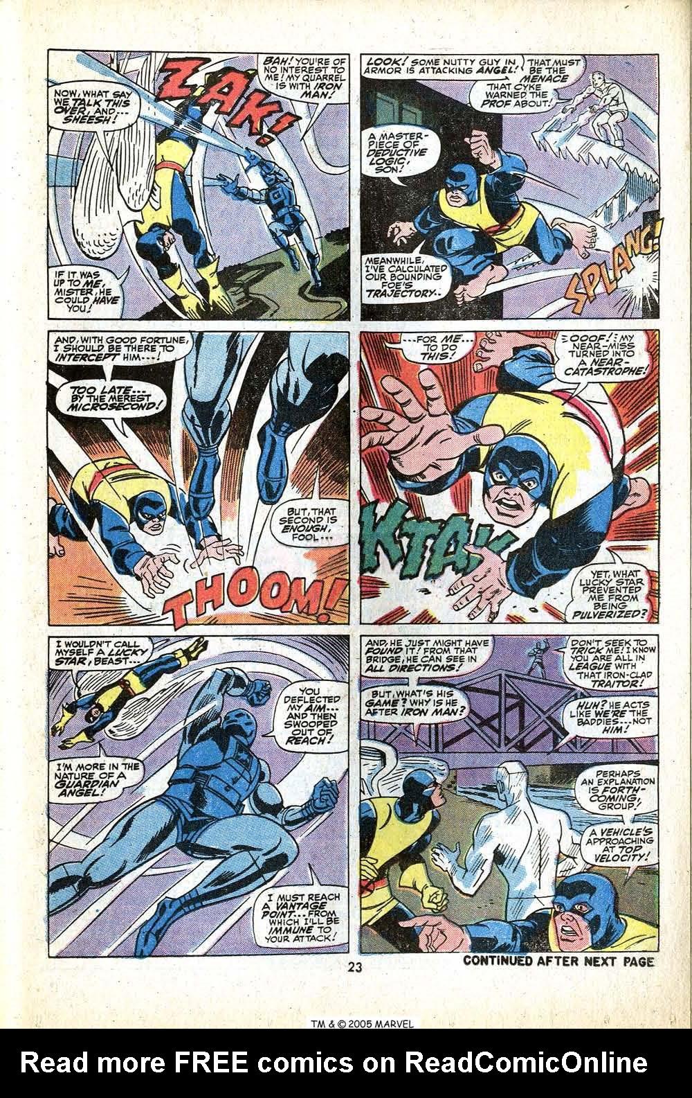 Uncanny X-Men (1963) 79 Page 24