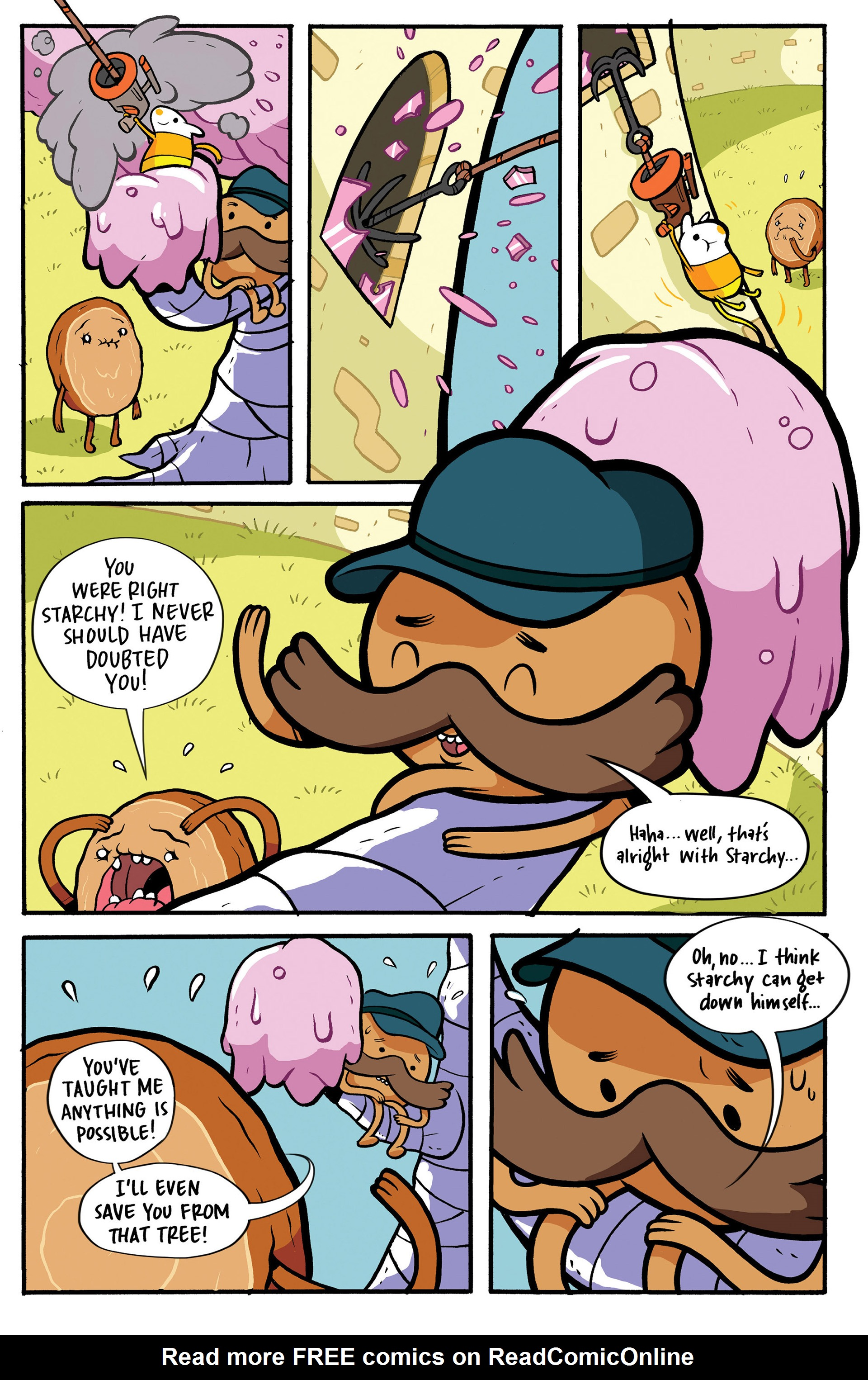 Read online Adventure Time: Candy Capers comic -  Issue #1 - 23