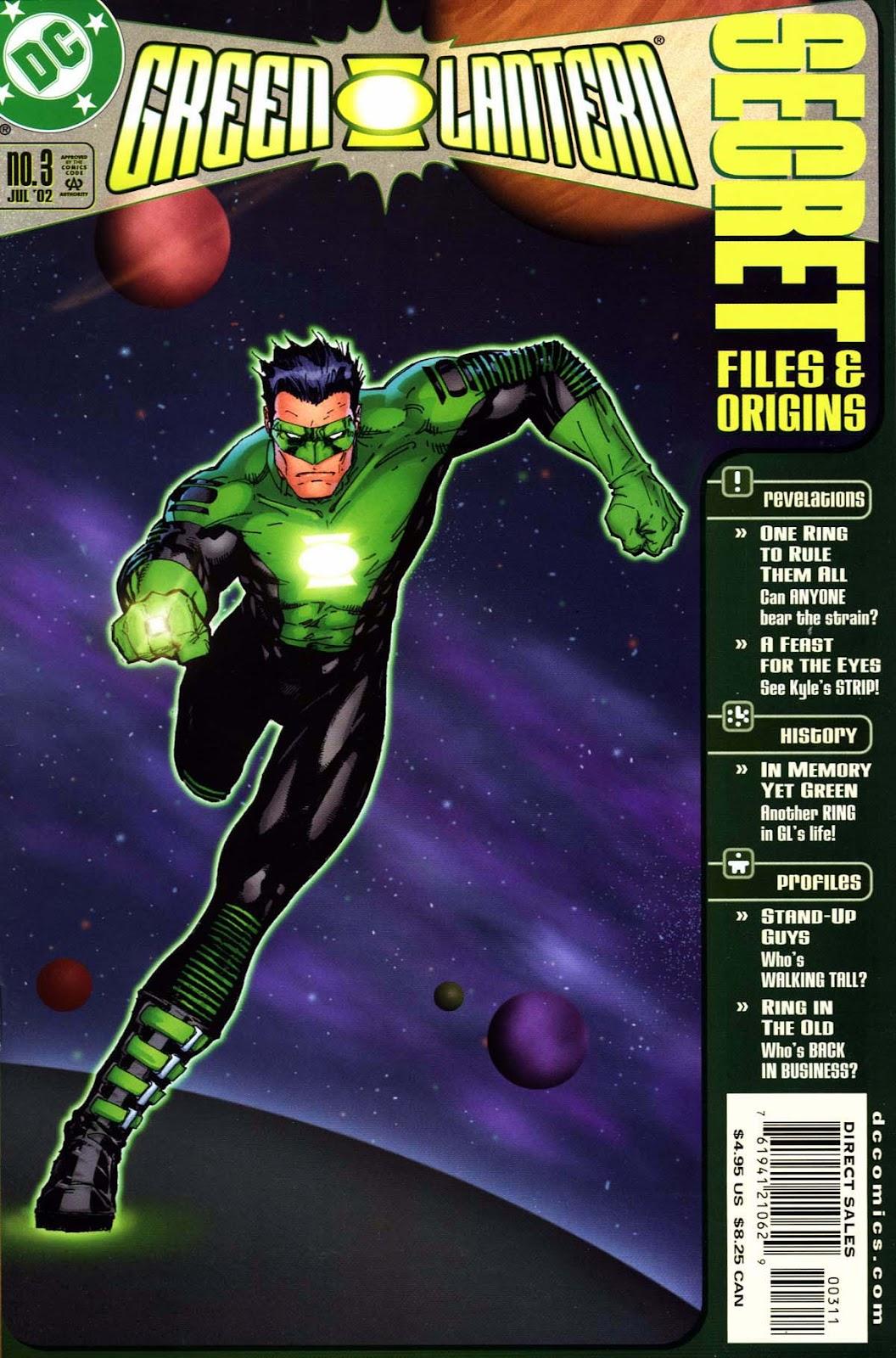 Green Lantern Secret Files and Origins (2002) Full Page 1