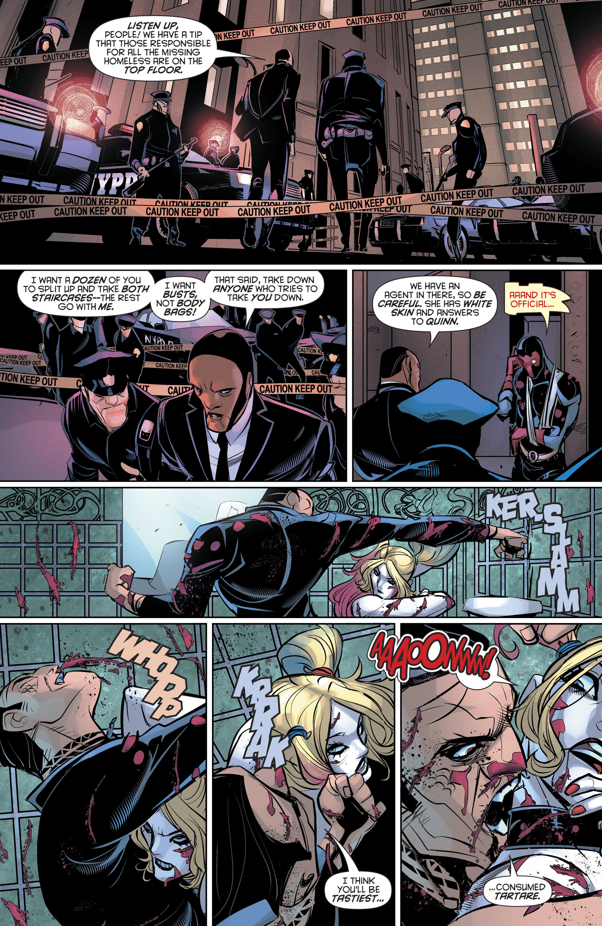 Read online Harley Quinn (2016) comic -  Issue #19 - 14