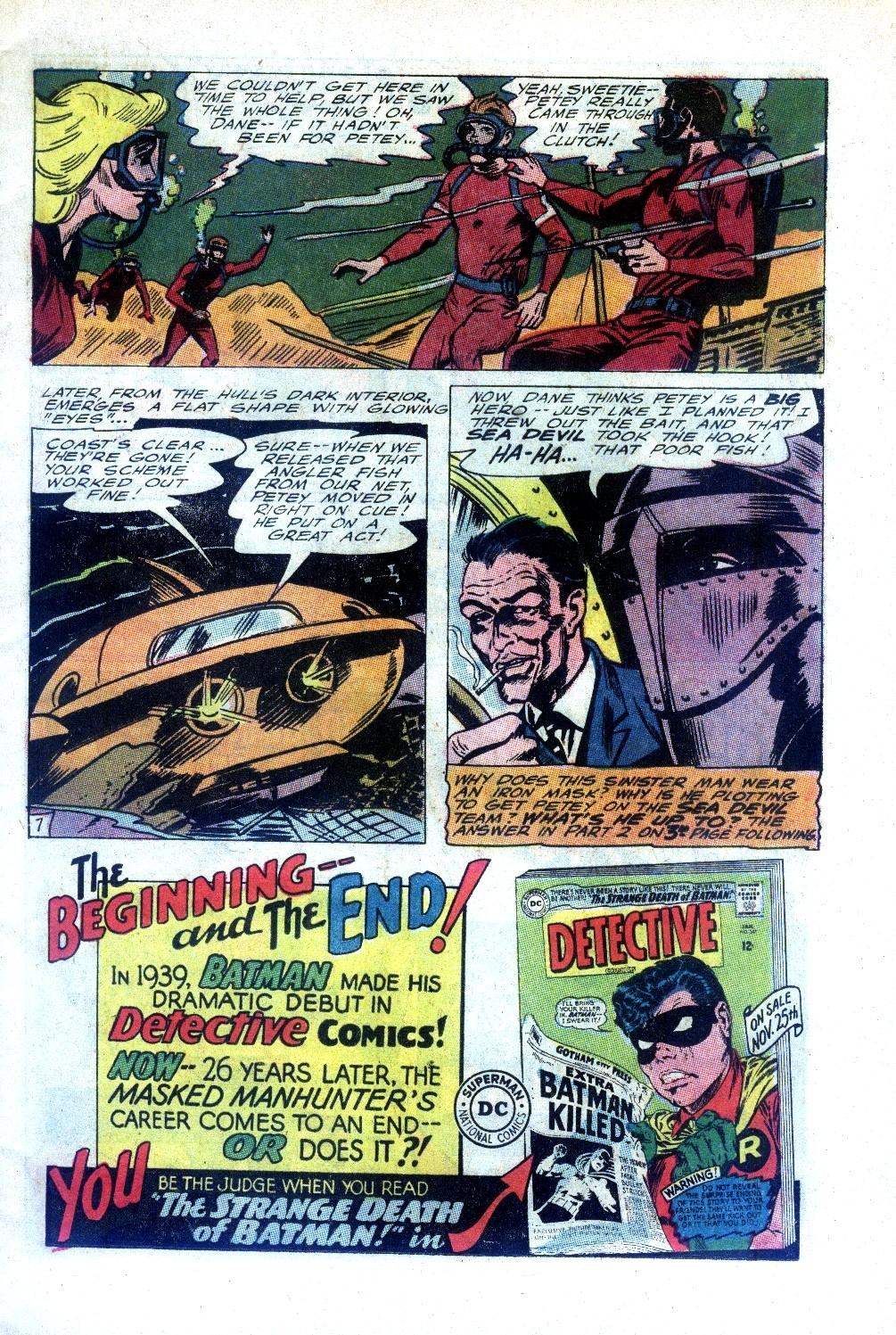 Read online Sea Devils comic -  Issue #27 - 10