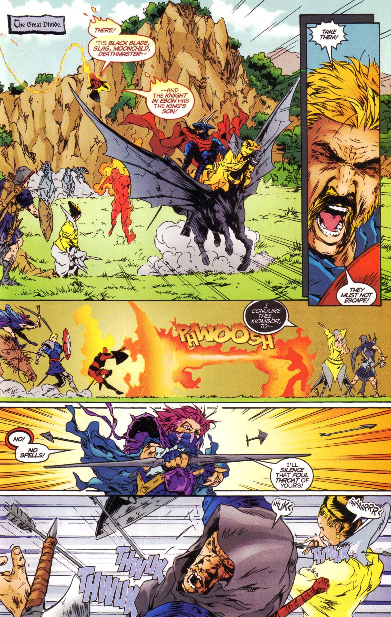 Read online Avataars: Covenant of the Shield comic -  Issue #1 - 20
