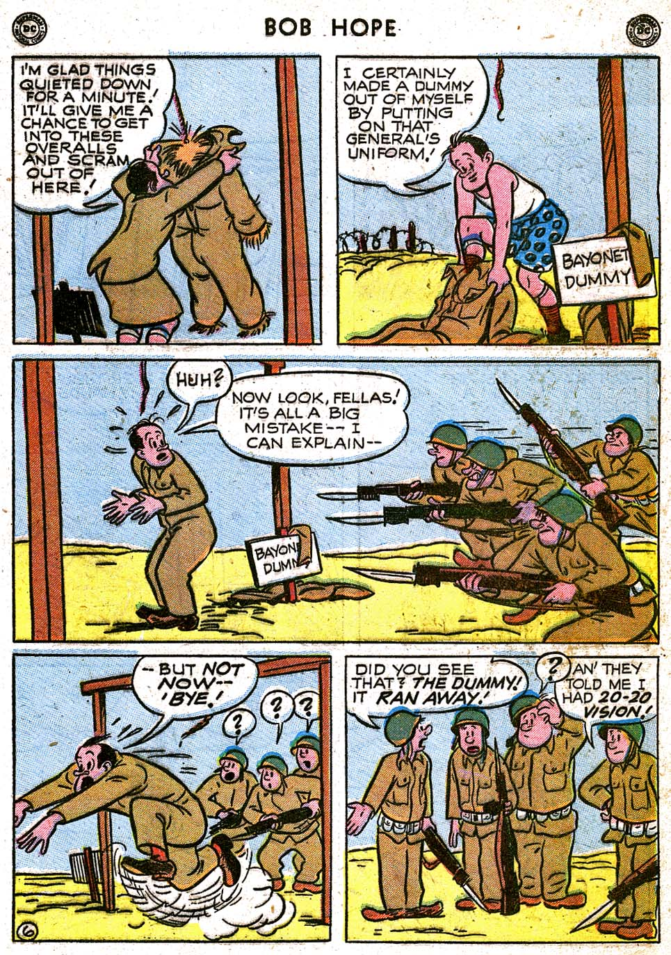 The Adventures of Bob Hope issue 8 - Page 43