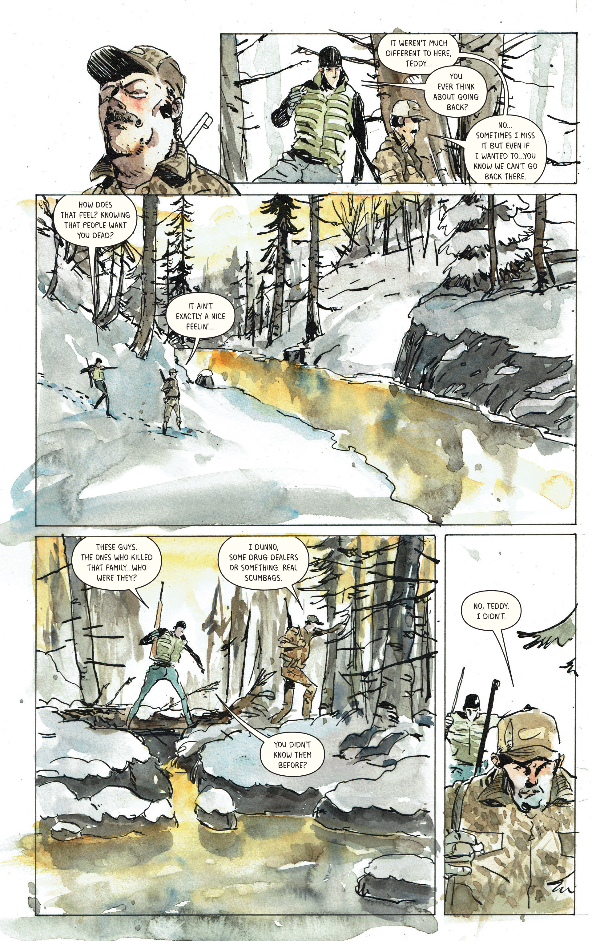 Read online Snow Blind comic -  Issue #3 - 16
