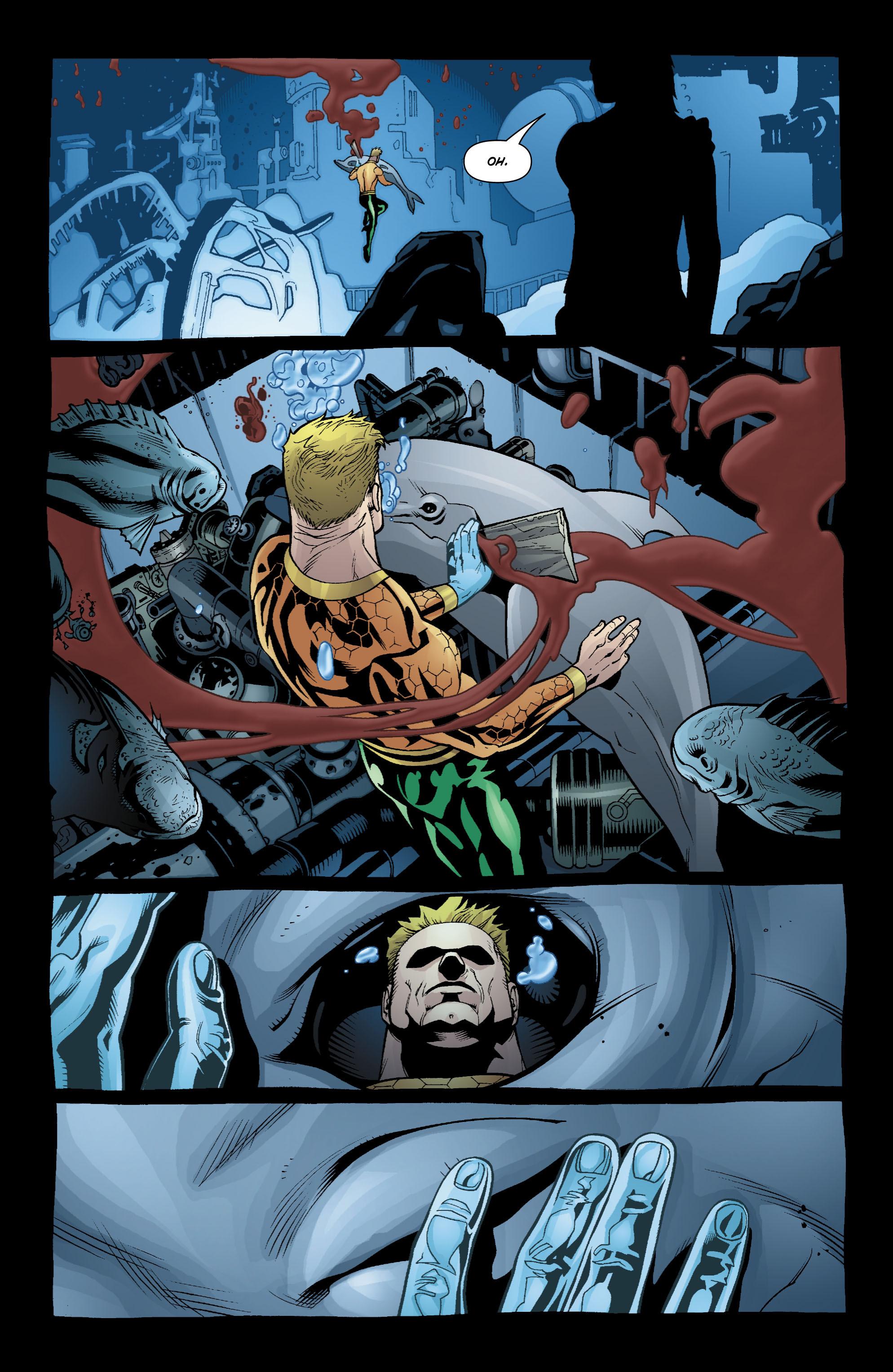Read online Aquaman (2003) comic -  Issue #18 - 14