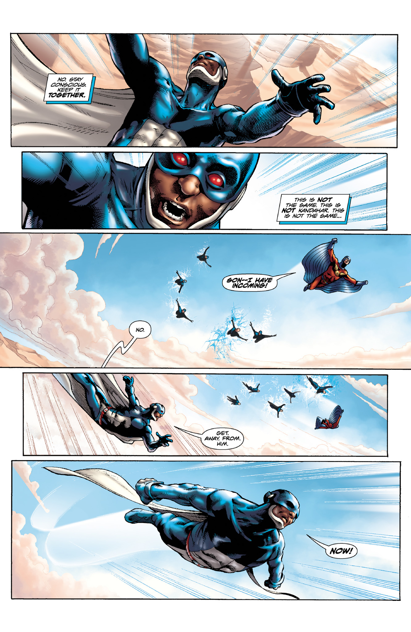 Read online Skyman comic -  Issue #4 - 6
