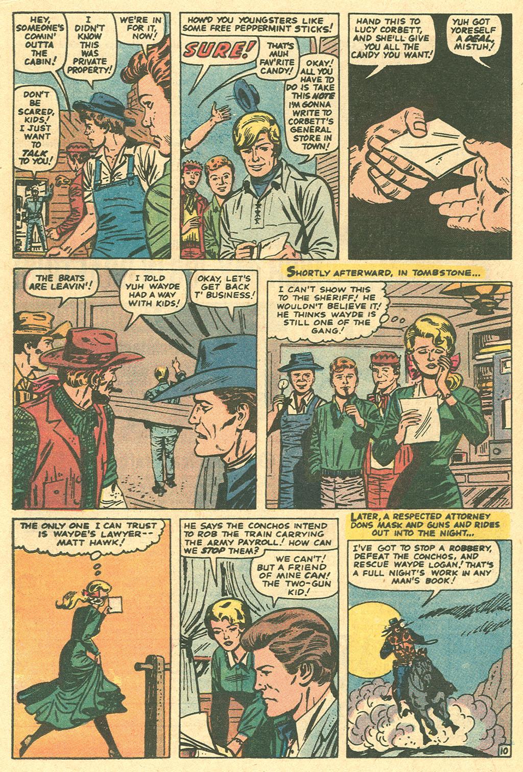 Read online Two-Gun Kid comic -  Issue #96 - 16