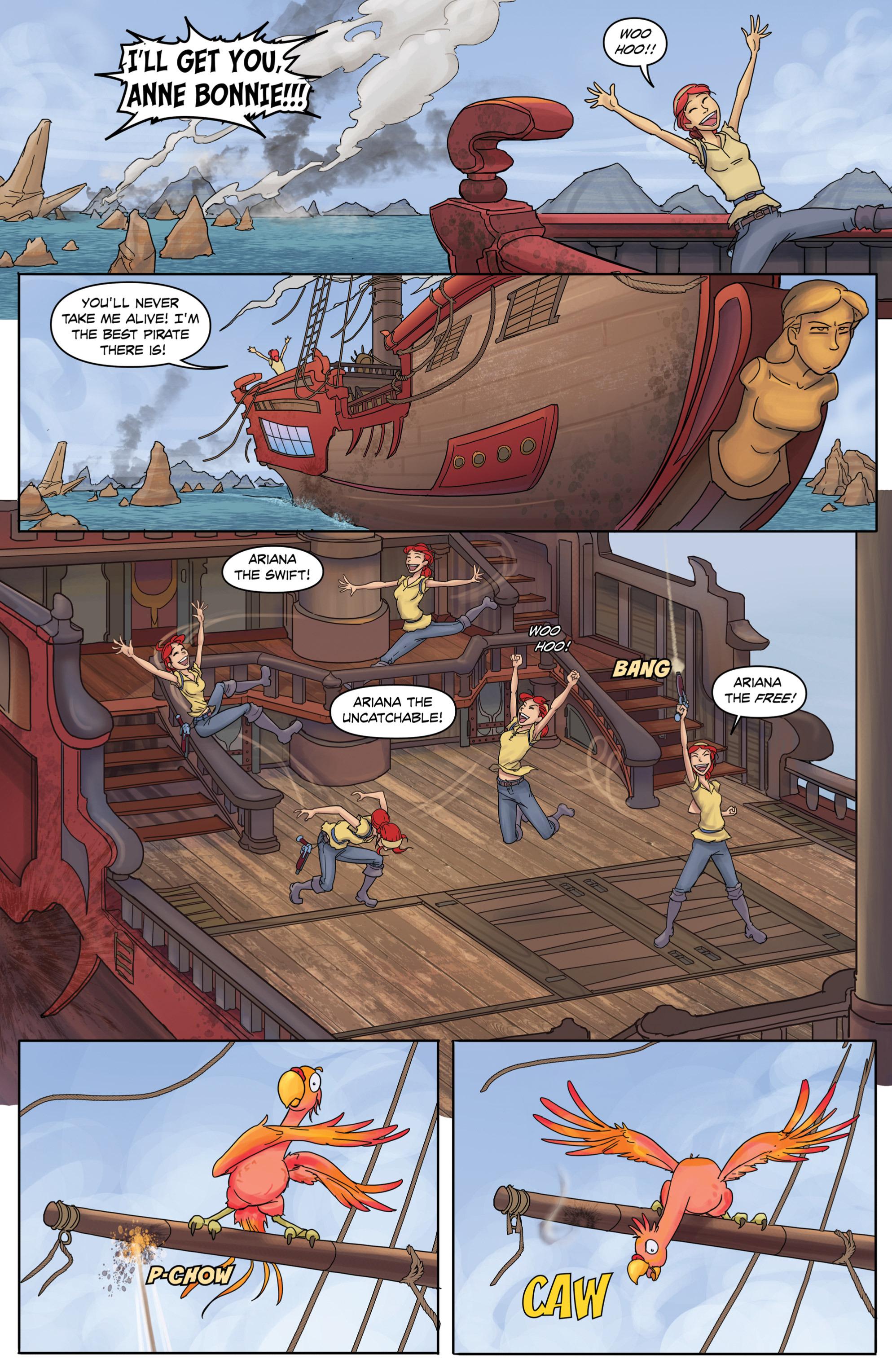 Read online Anne Bonnie comic -  Issue #2 - 10
