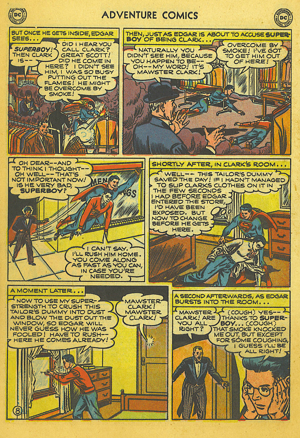 Read online Adventure Comics (1938) comic -  Issue #169 - 9