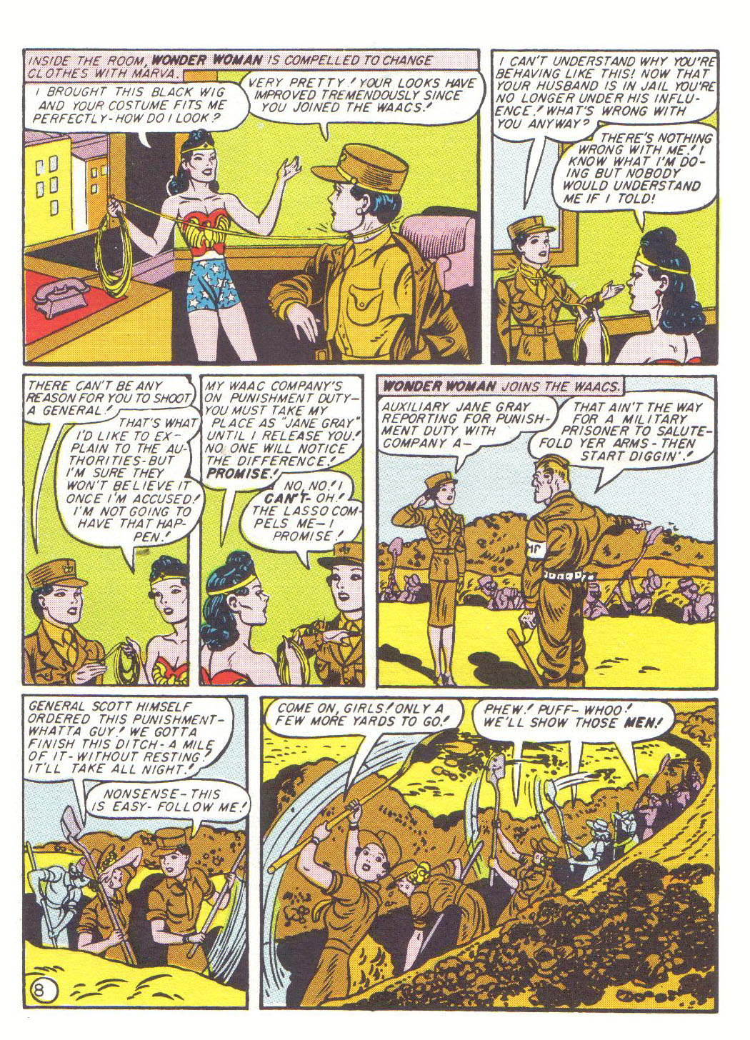 Read online Sensation (Mystery) Comics comic -  Issue #20 - 10