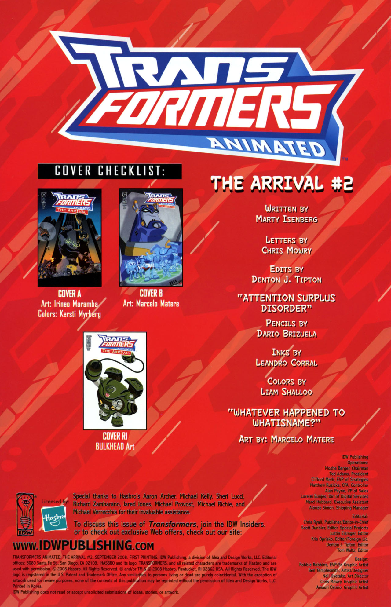Read online Transformers Animated: The Arrival comic -  Issue #2 - 3
