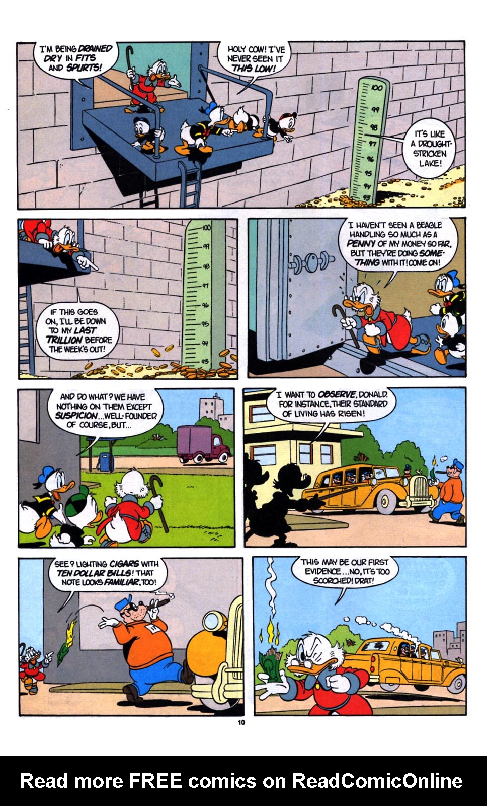 Read online Uncle Scrooge (1953) comic -  Issue #254 - 11