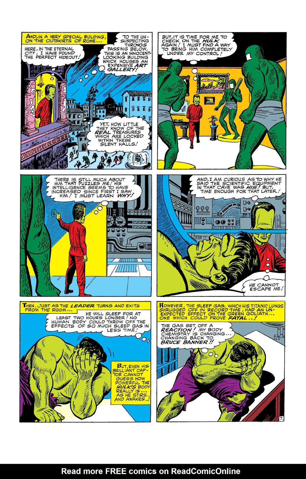 Read online Marvel Masterworks: The Incredible Hulk comic -  Issue # TPB 2 (Part 2) - 63