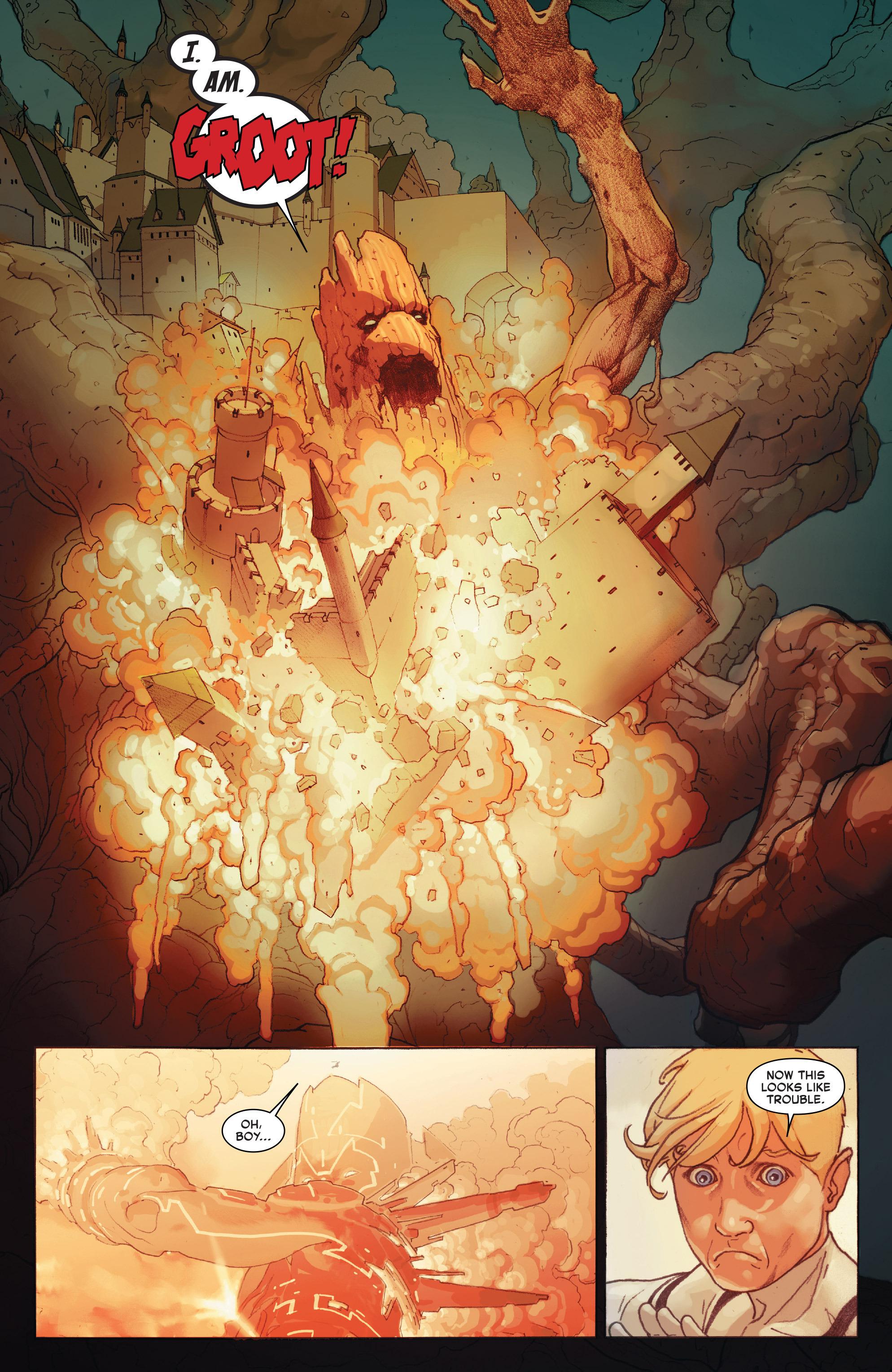Read online Secret Wars comic -  Issue #8 - 18
