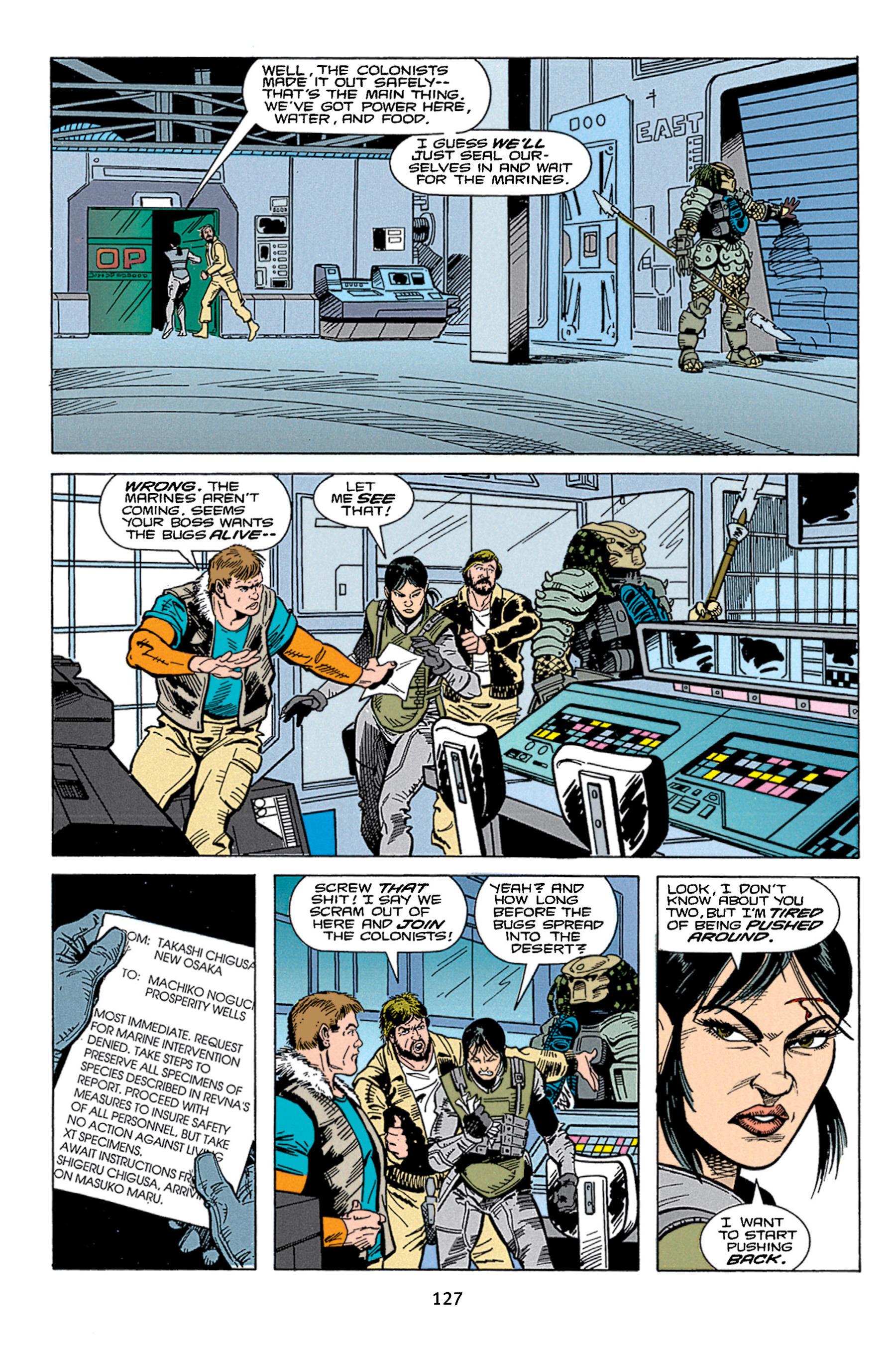 Read online Aliens vs. Predator Omnibus comic -  Issue # _TPB 1 Part 2 - 26