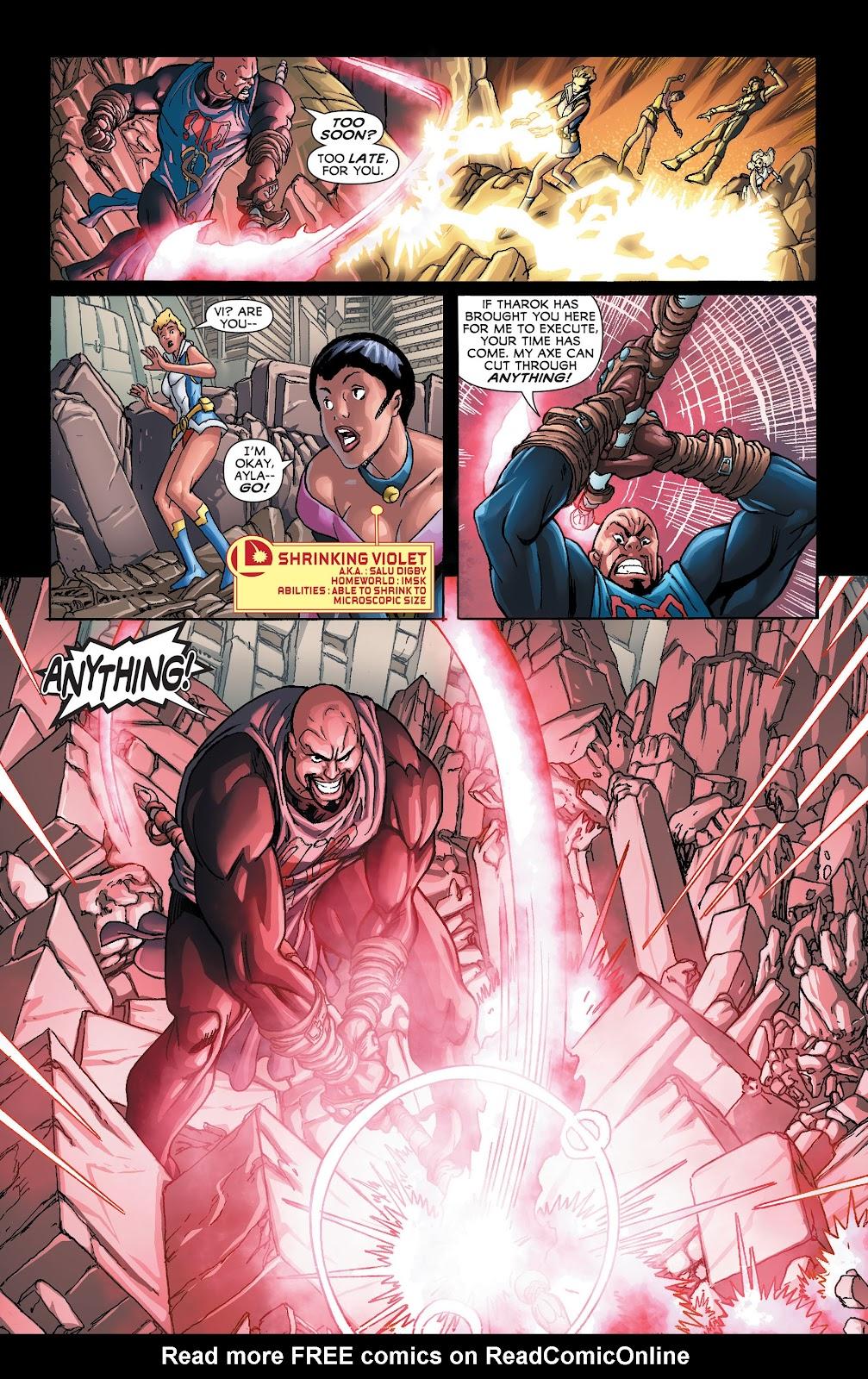 Legion of Super-Heroes (2011) Issue #21 #22 - English 13