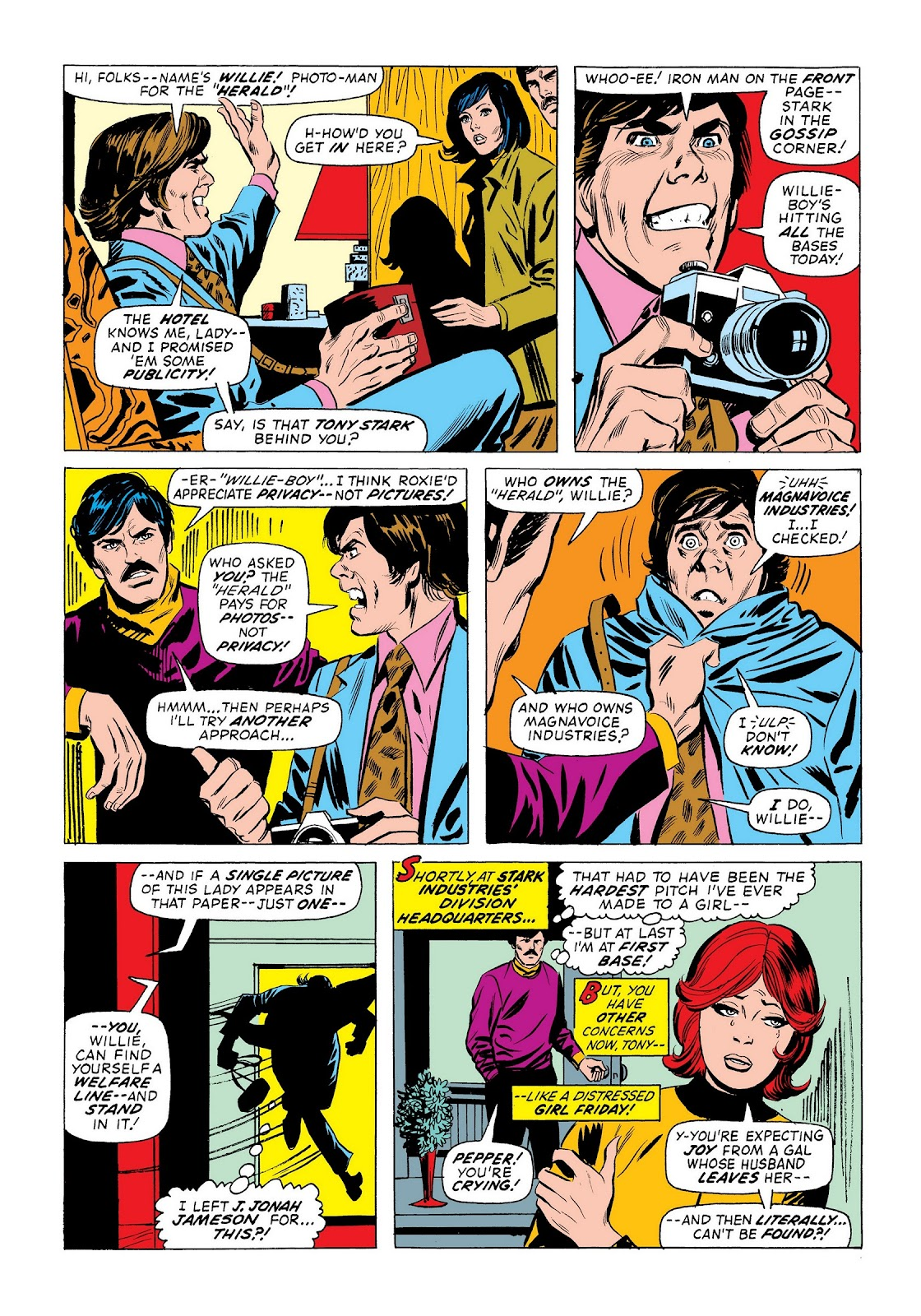 Read online Marvel Masterworks: The Invincible Iron Man comic -  Issue # TPB 9 (Part 2) - 100