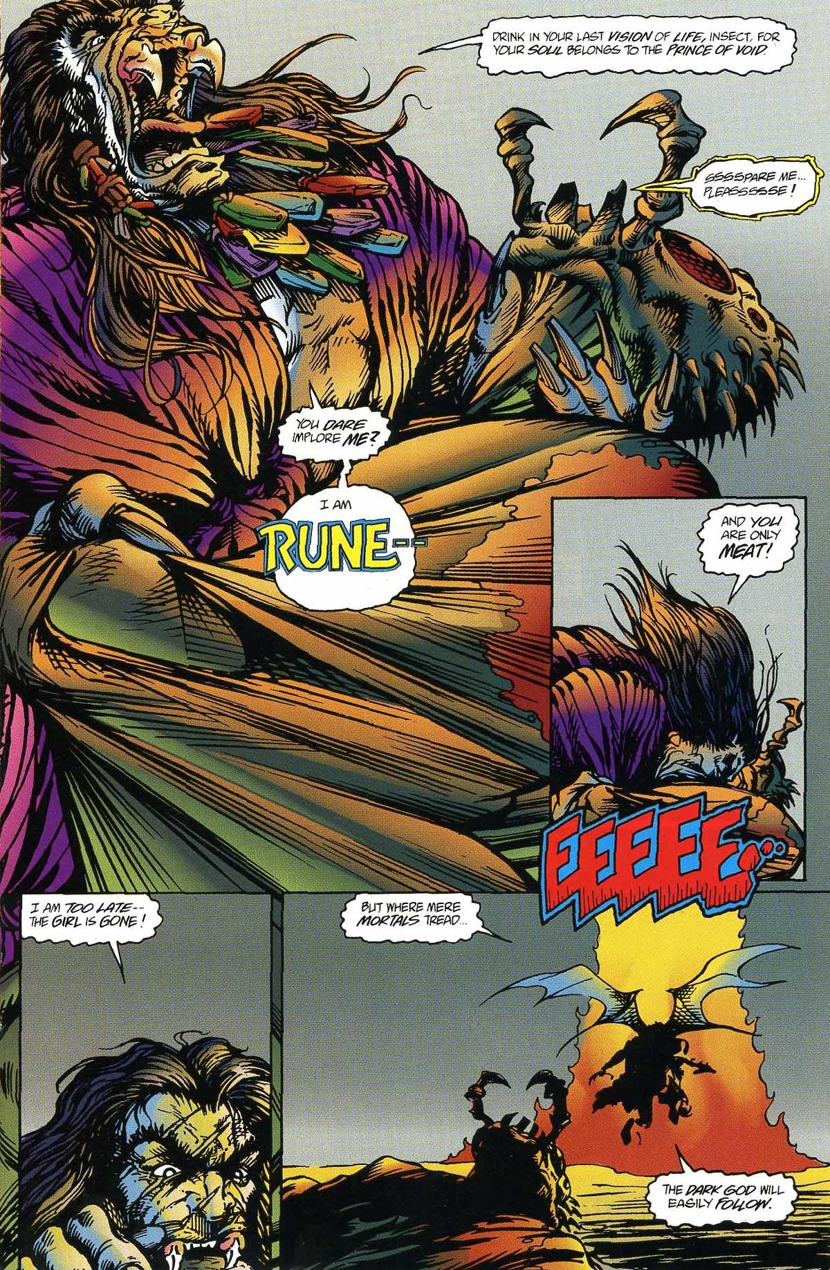 Read online Rune (1994) comic -  Issue #8 - 14