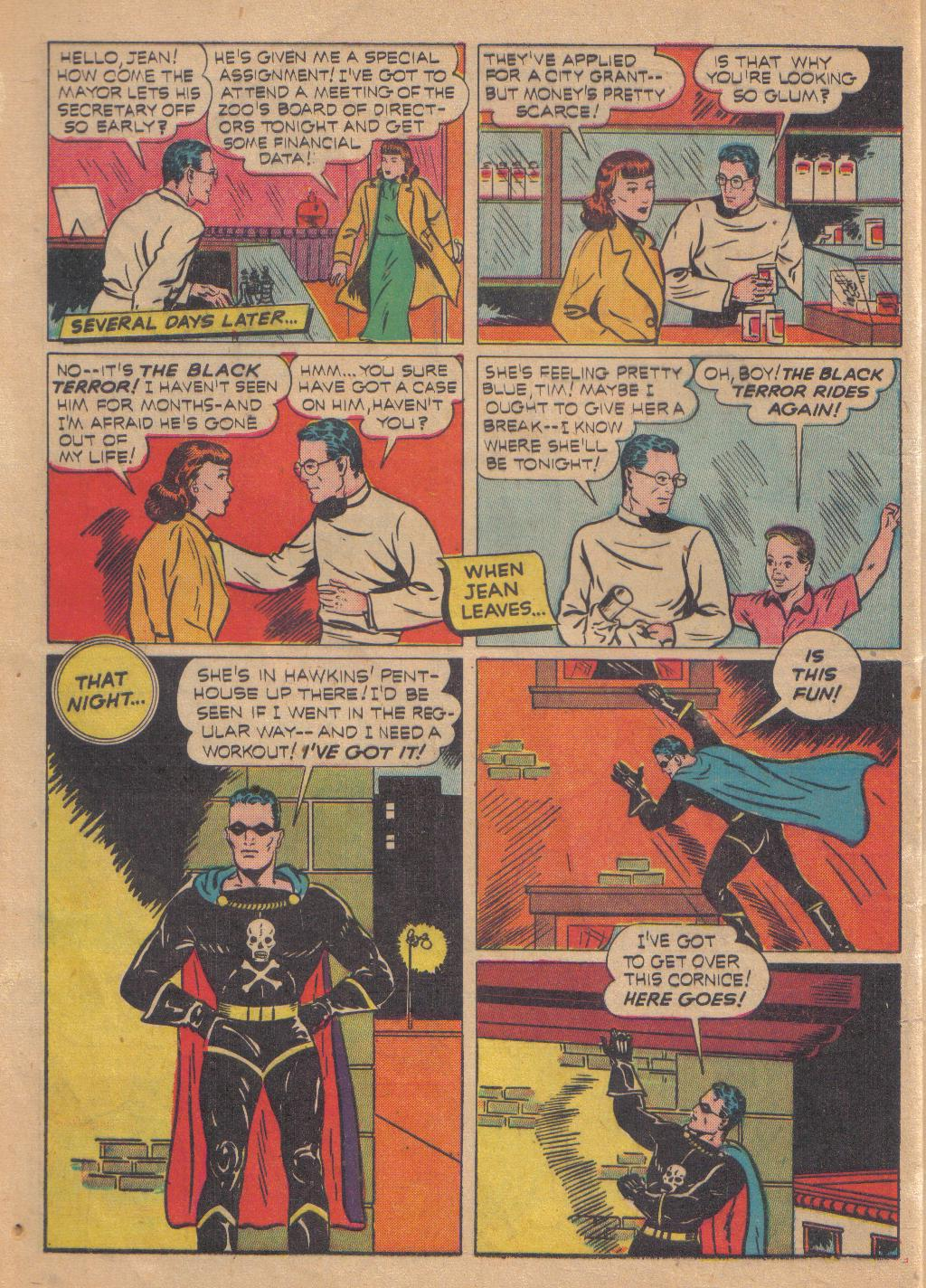 Exciting Comics (1940) issue 13 - Page 4