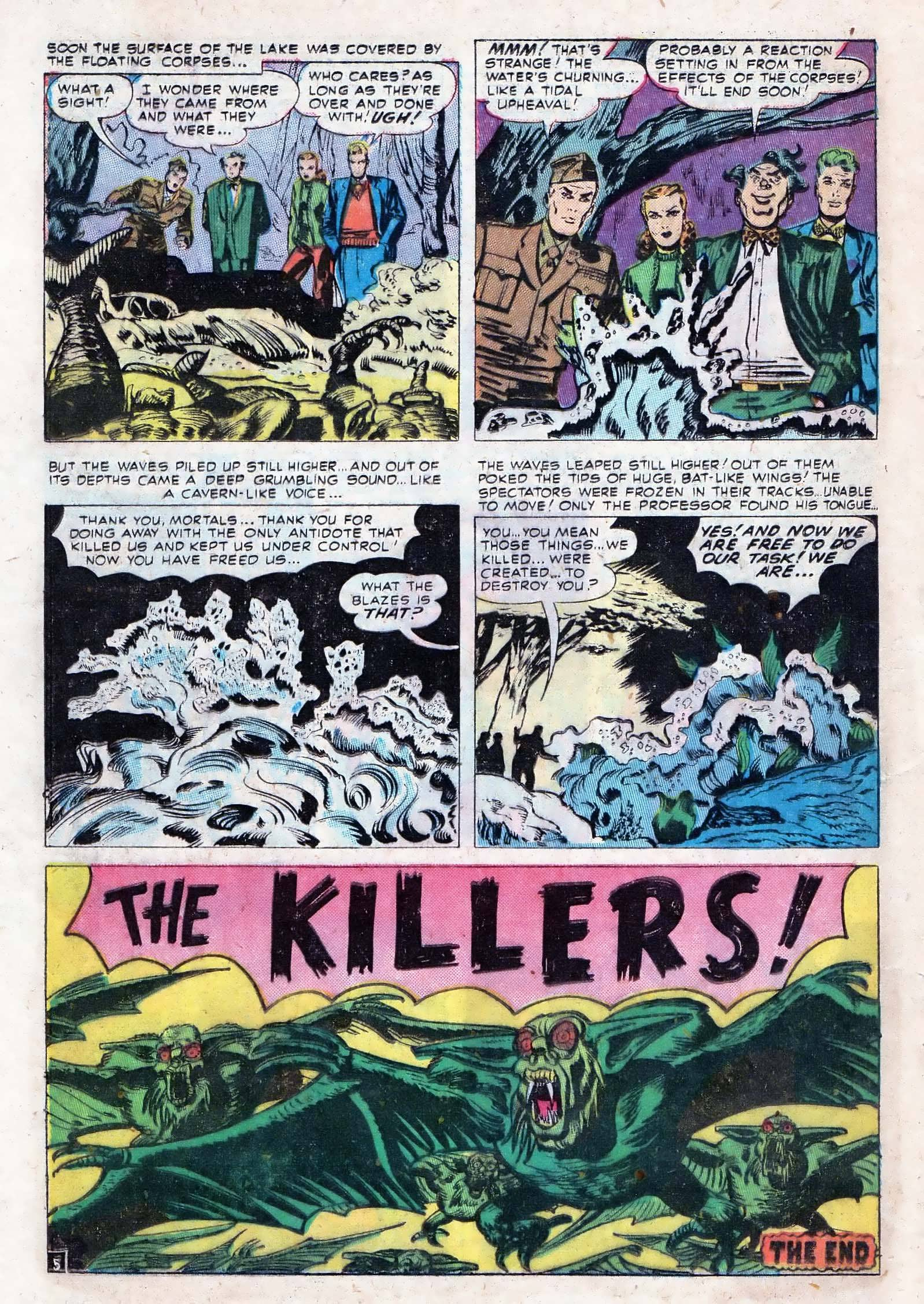 Read online Adventures into Weird Worlds comic -  Issue #10 - 13