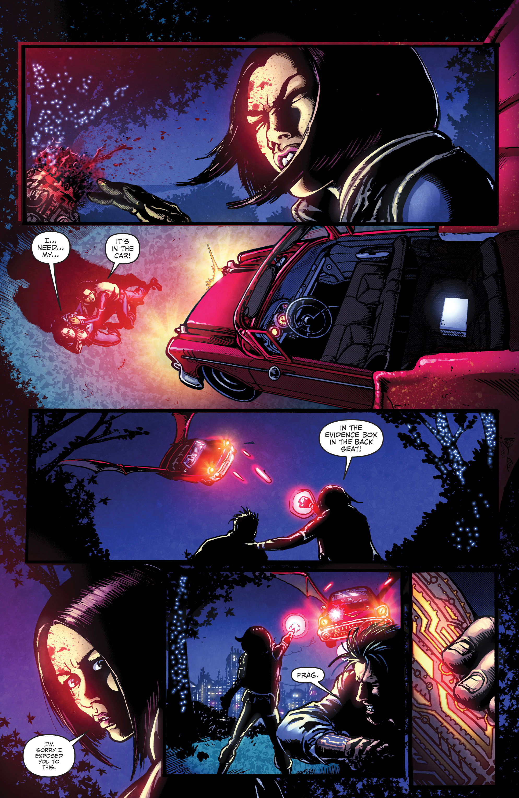 Read online Ballistic (2013) comic -  Issue #3 - 3