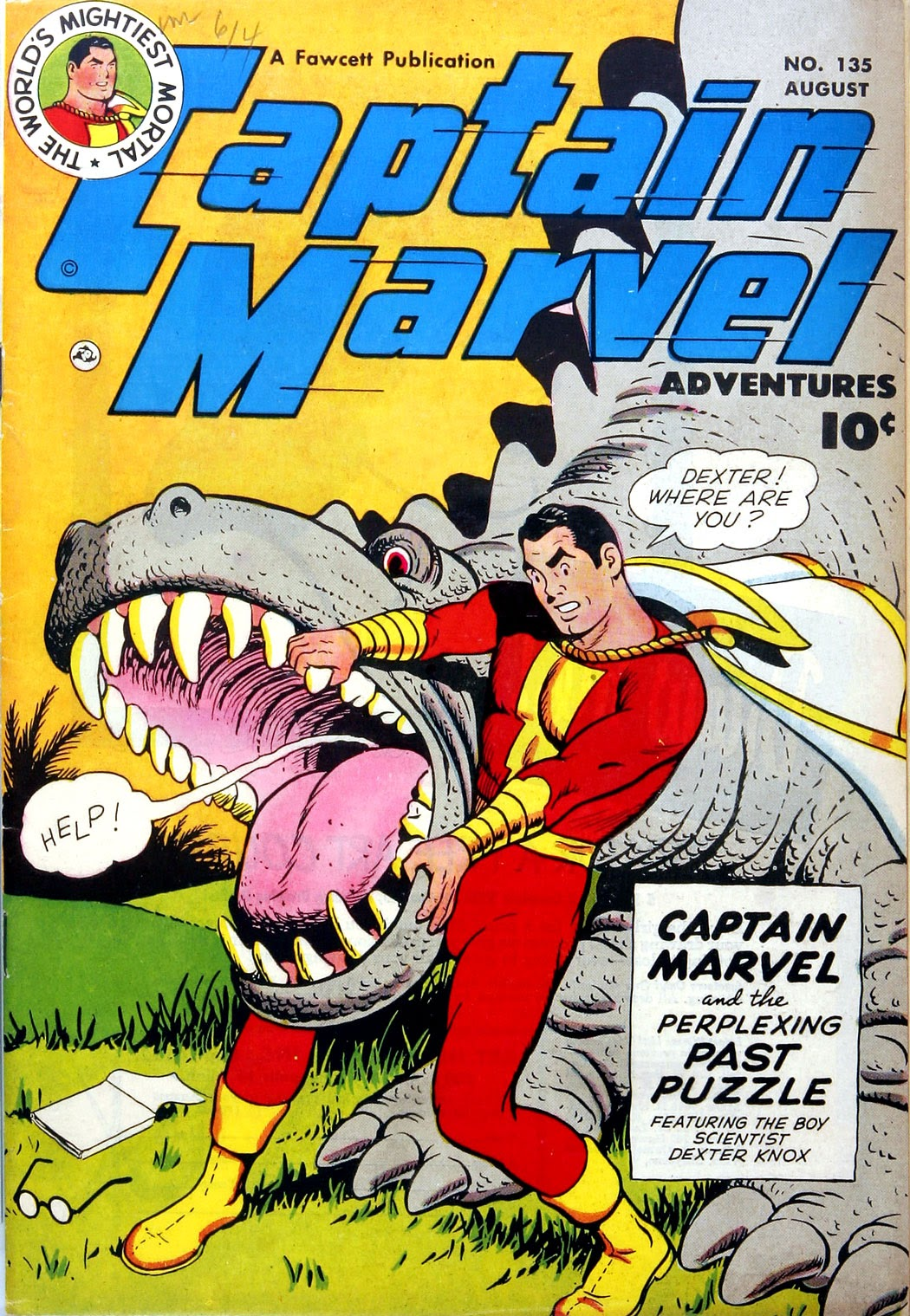 Captain Marvel Adventures issue 135 - Page 1
