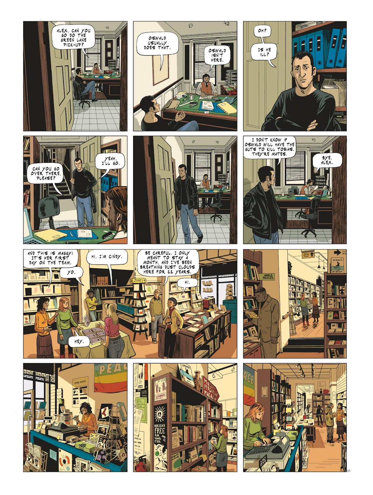 Read online Maggy Garrisson comic -  Issue #3 - 22