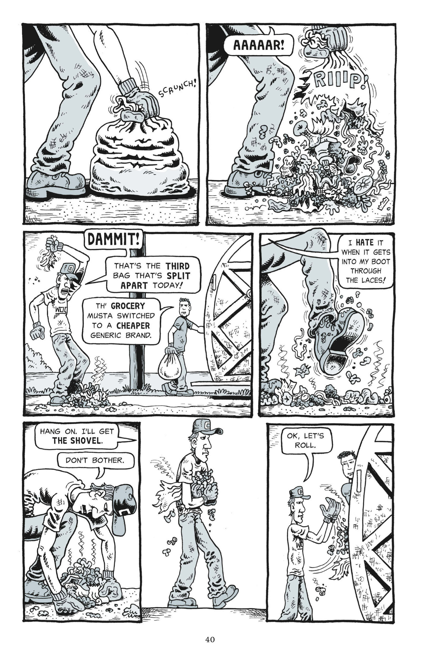 Read online Trashed comic -  Issue # Full - 41