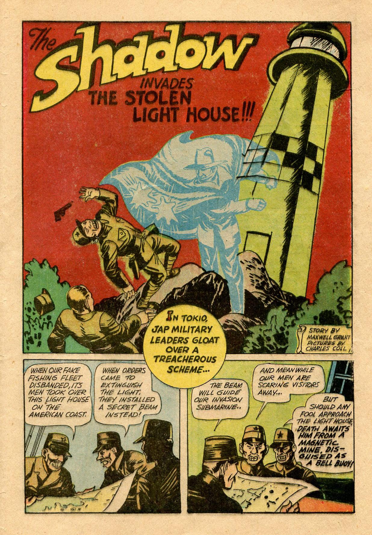 Read online Shadow Comics comic -  Issue #33 - 51