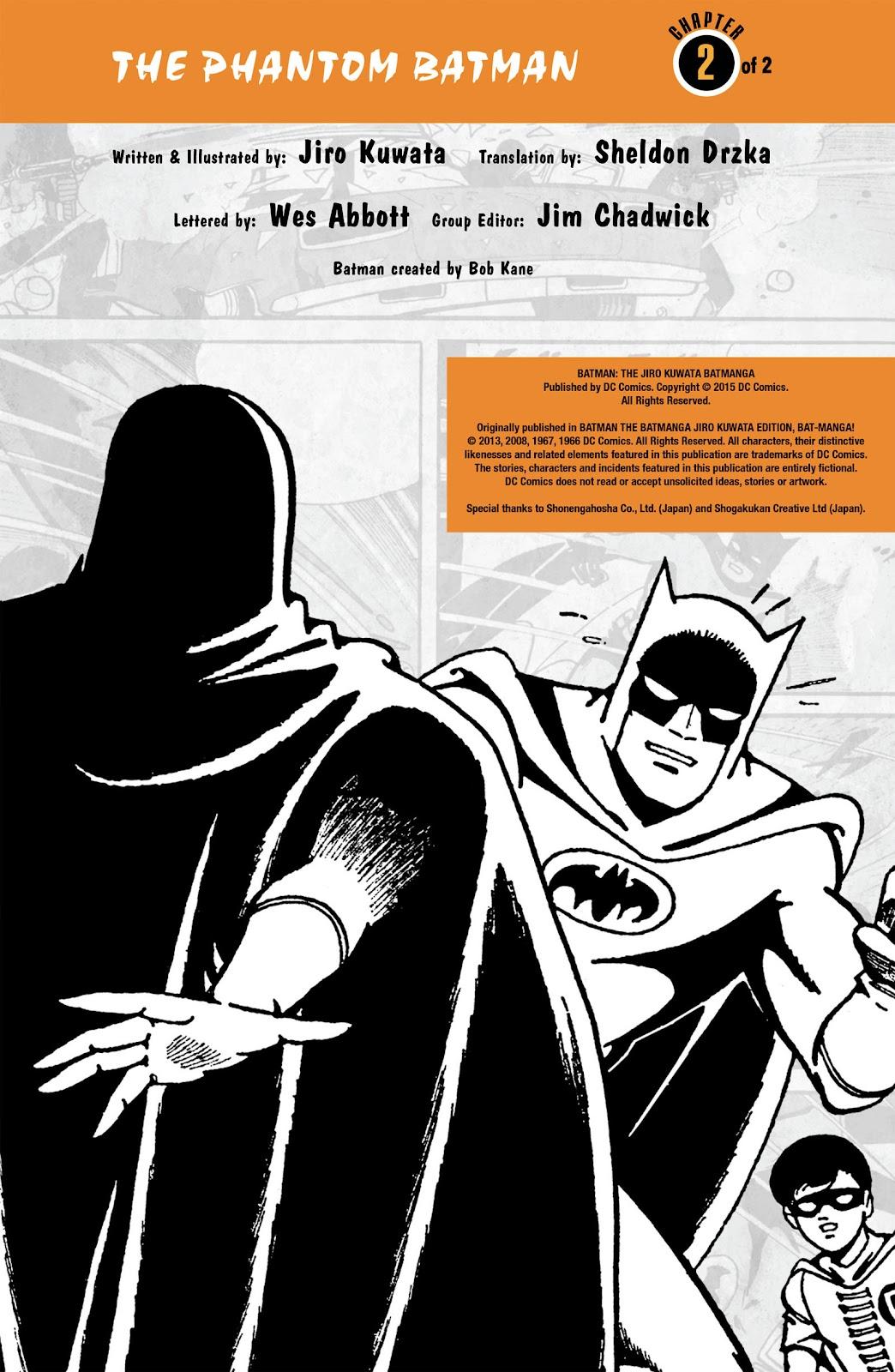Read online Batman - The Jiro Kuwata Batmanga comic -  Issue #51 - 2