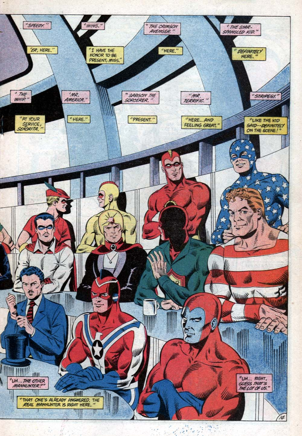 Read online All-Star Squadron comic -  Issue #31 - 21