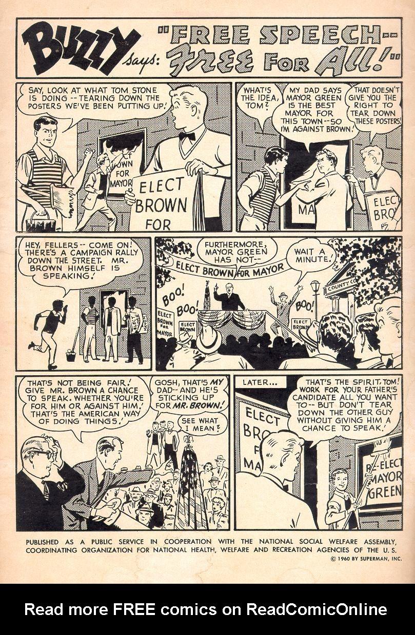 Read online Adventure Comics (1938) comic -  Issue #274 - 2