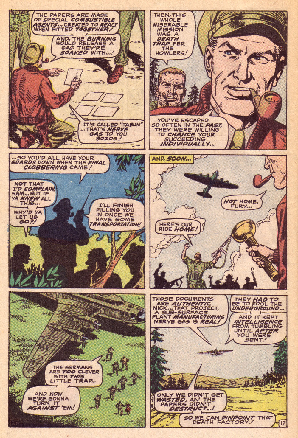 Read online Sgt. Fury comic -  Issue #74 - 24