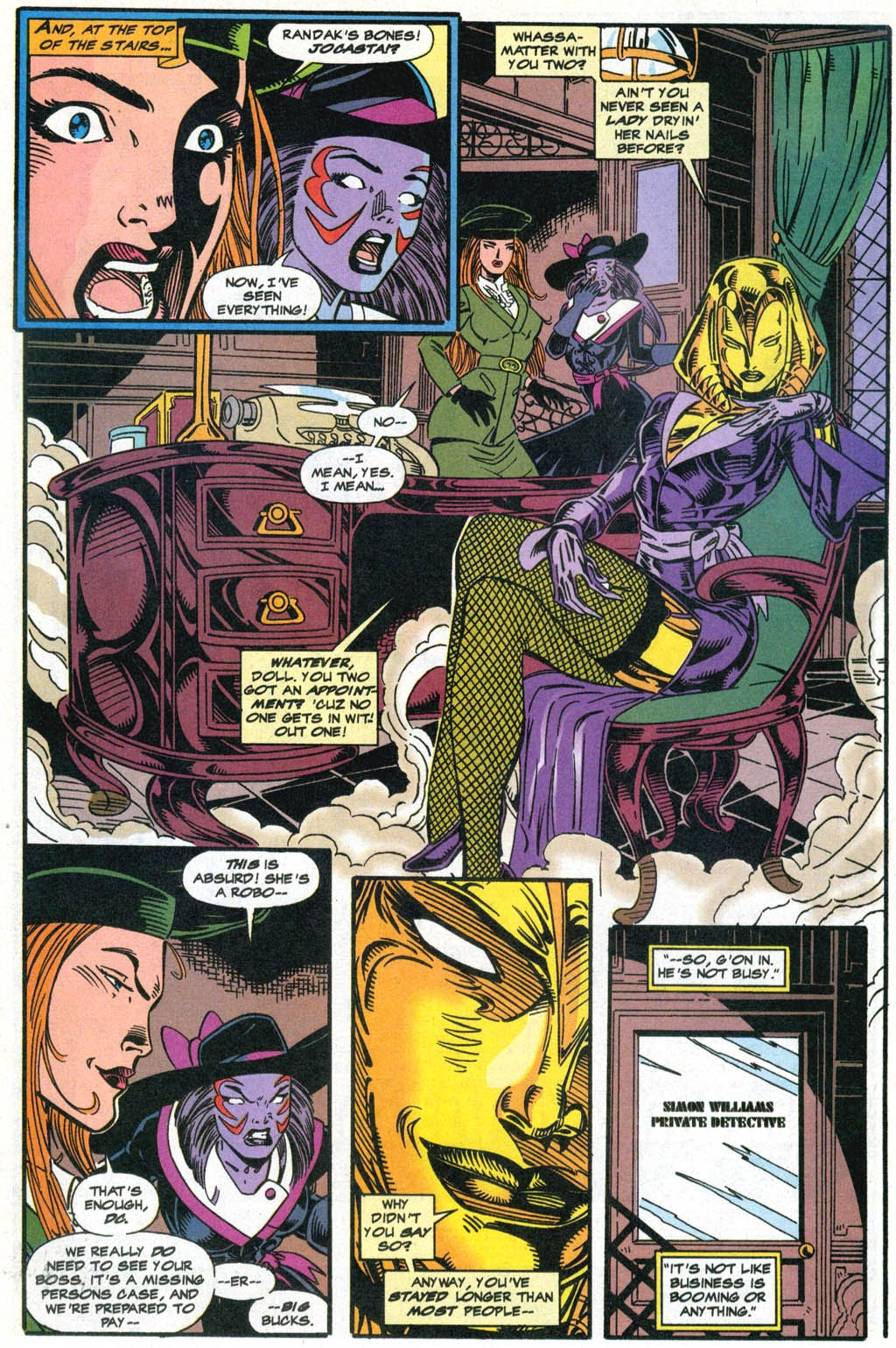 Read online The Vision comic -  Issue #2 - 4